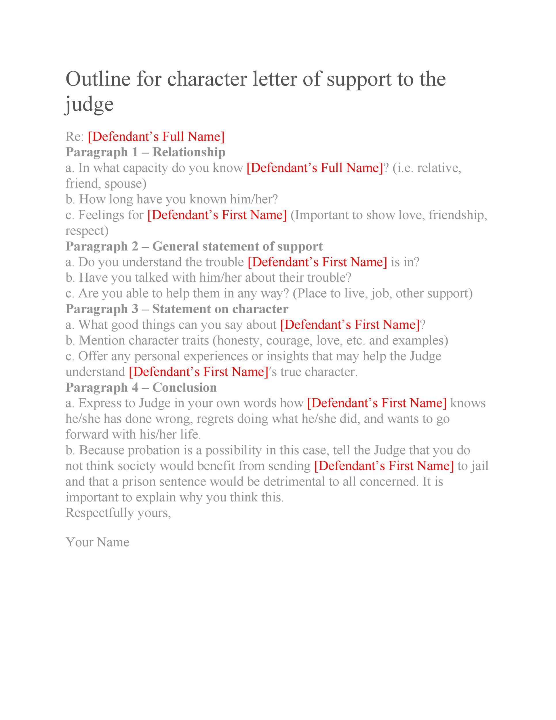 Free character witness letter 28