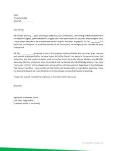 character witness letter 32