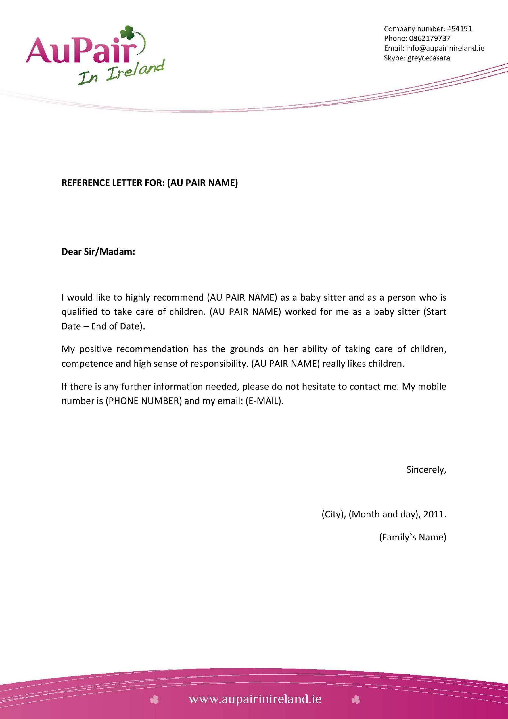 Free character witness letter 37