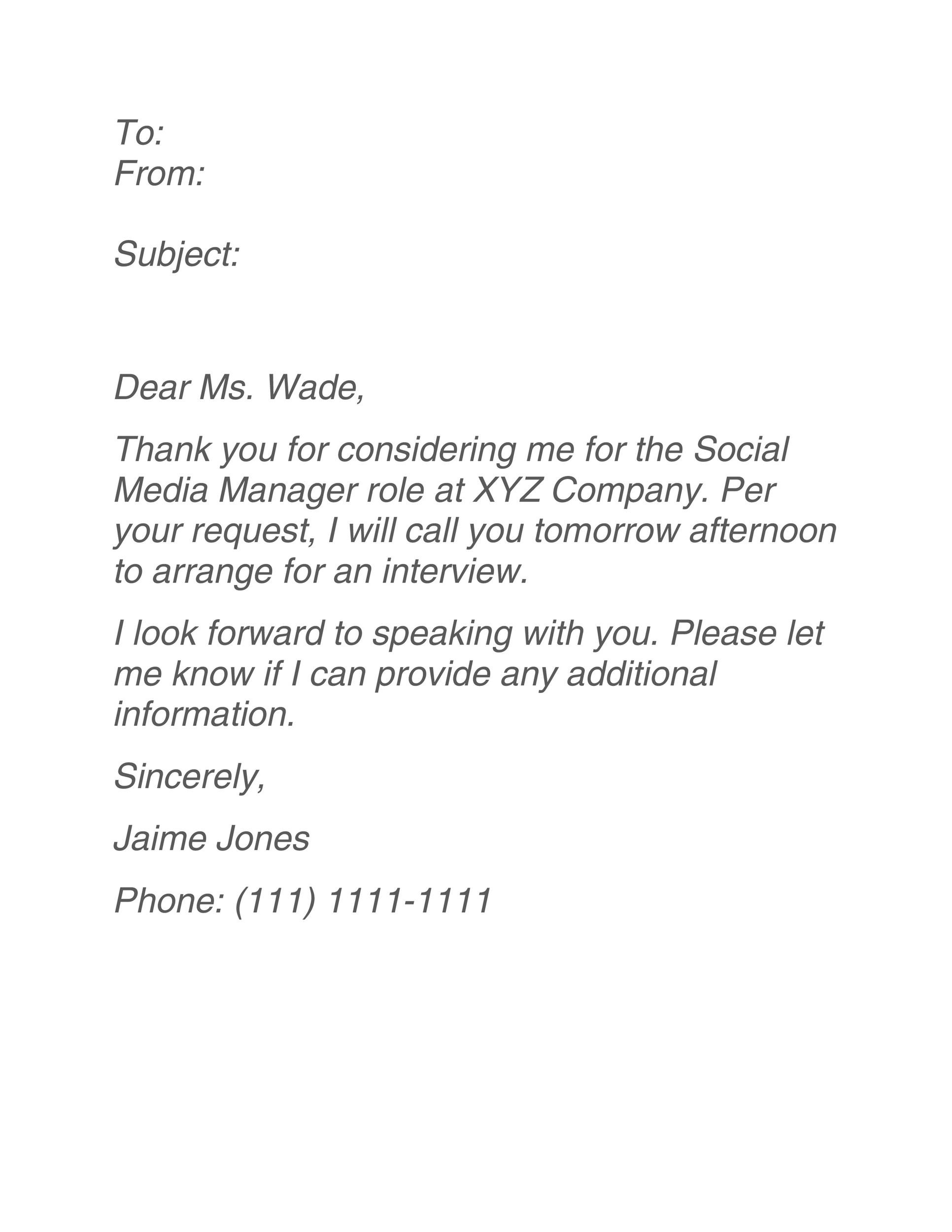 Free interview acceptance email 15
