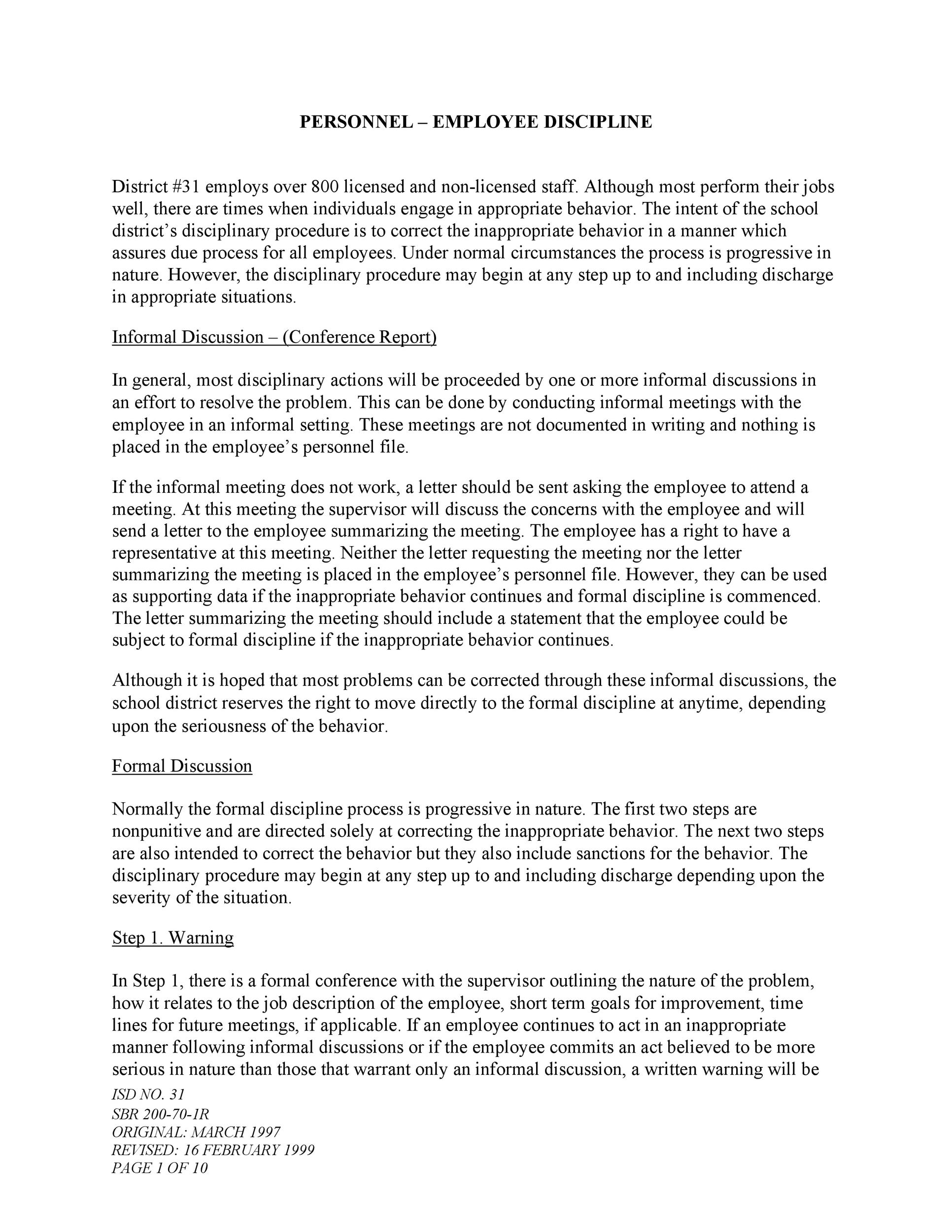 Employee Insubordination Warning Letter from templatelab.com