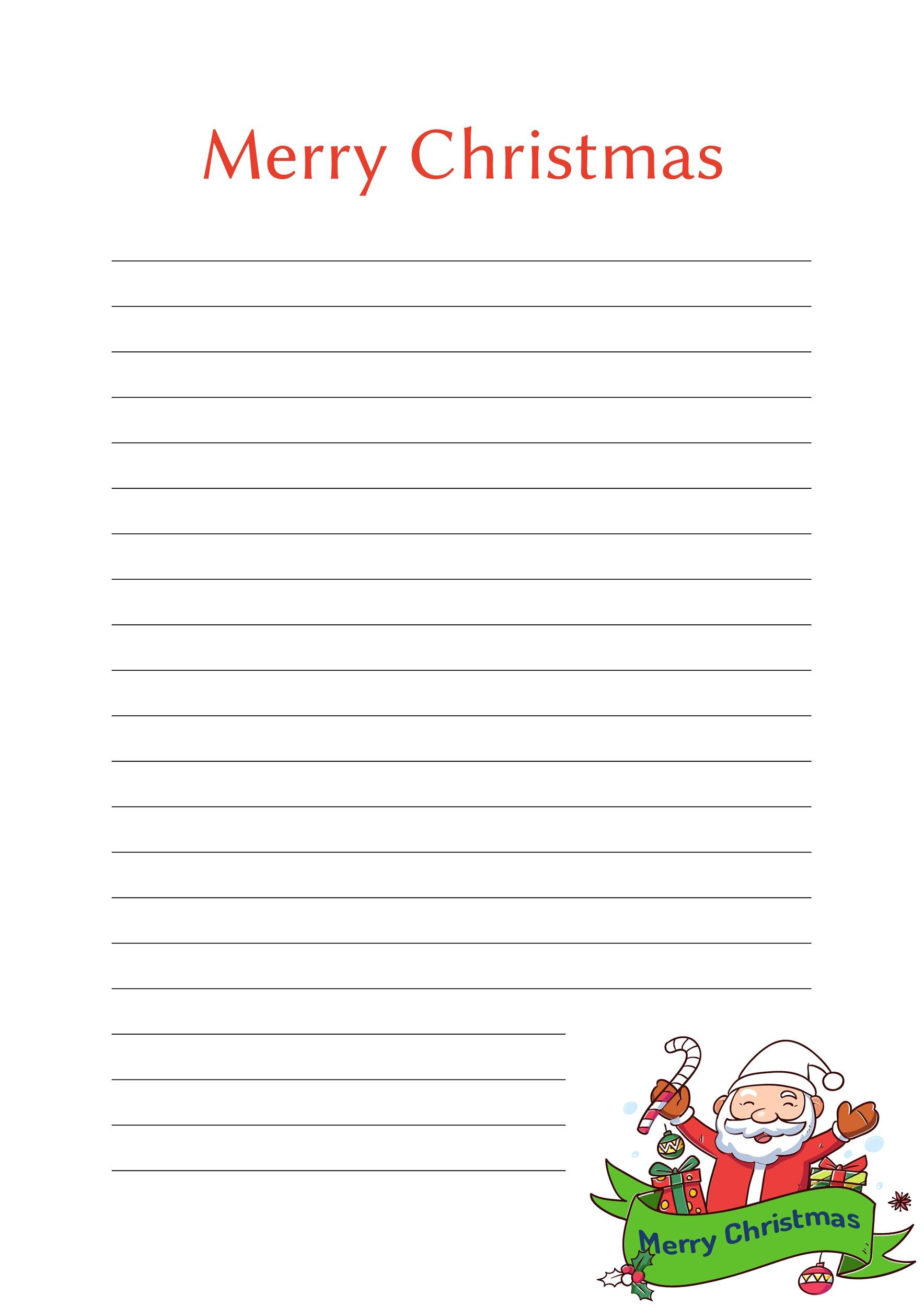 Free lined paper template 15