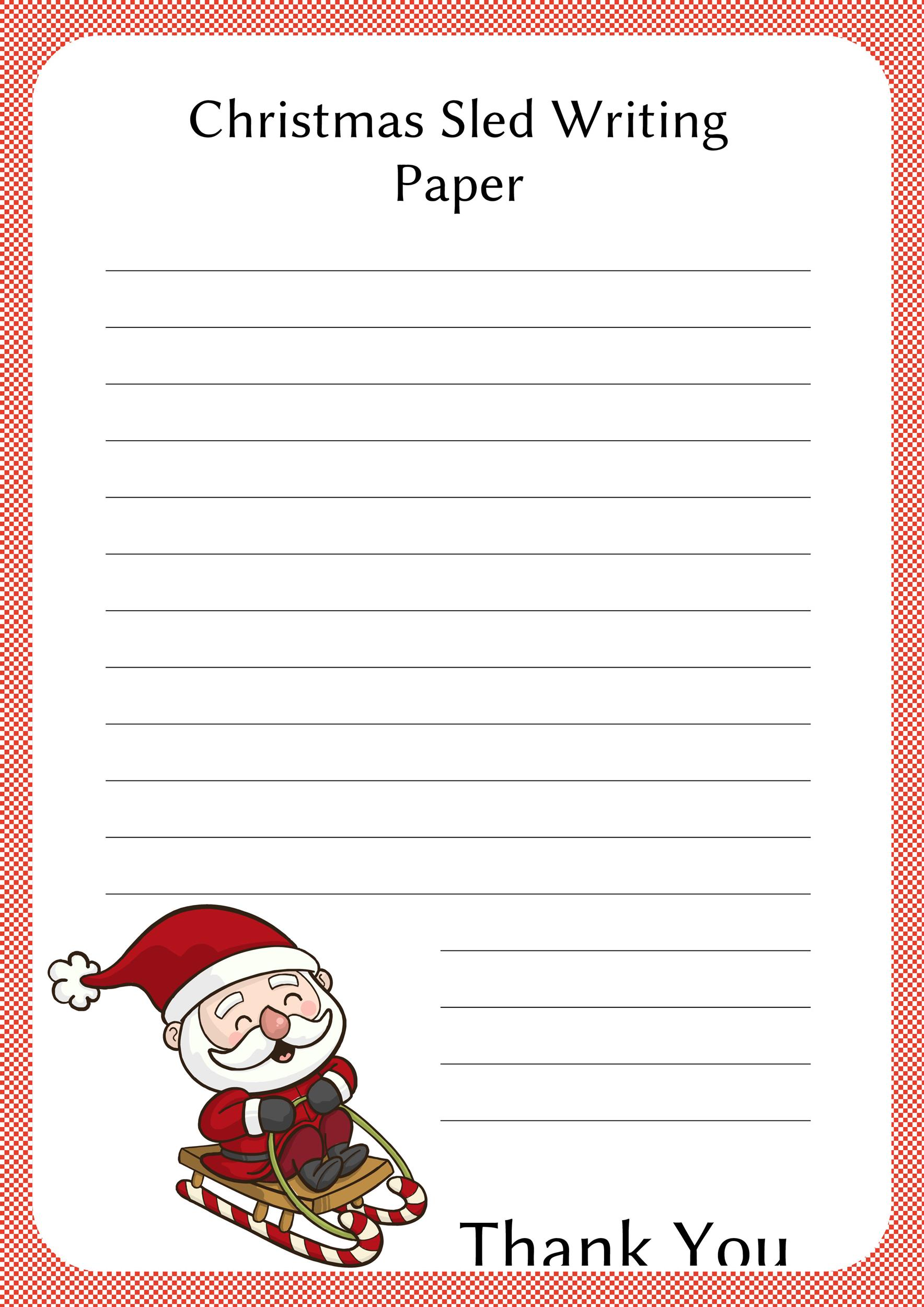 Free lined paper template 20