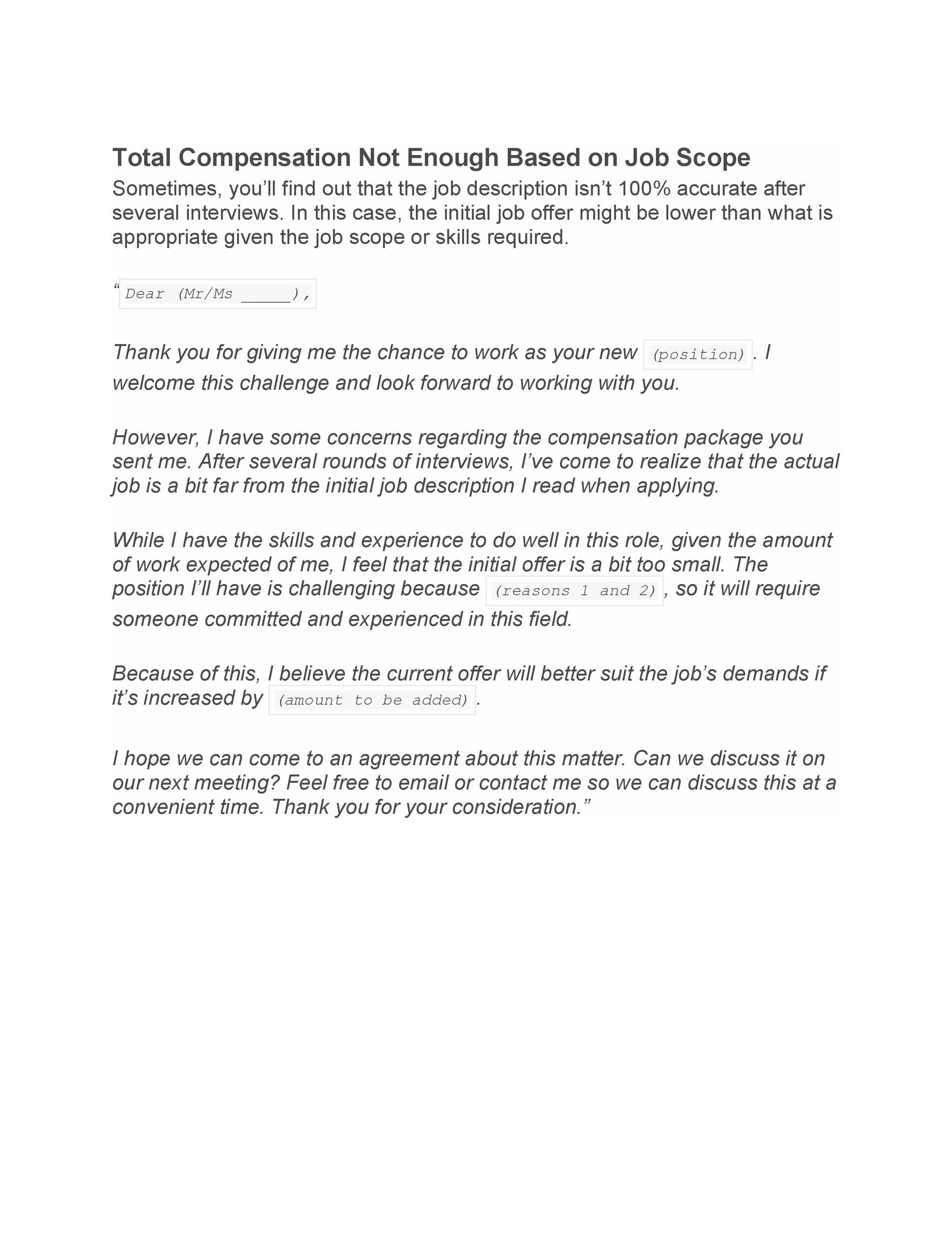 34 best salary requirements cover letters   tips   u1405