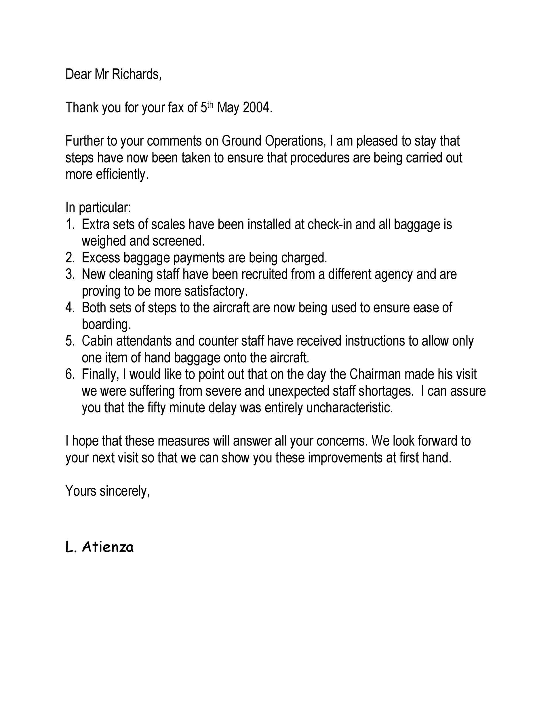Free adjustment letter 08