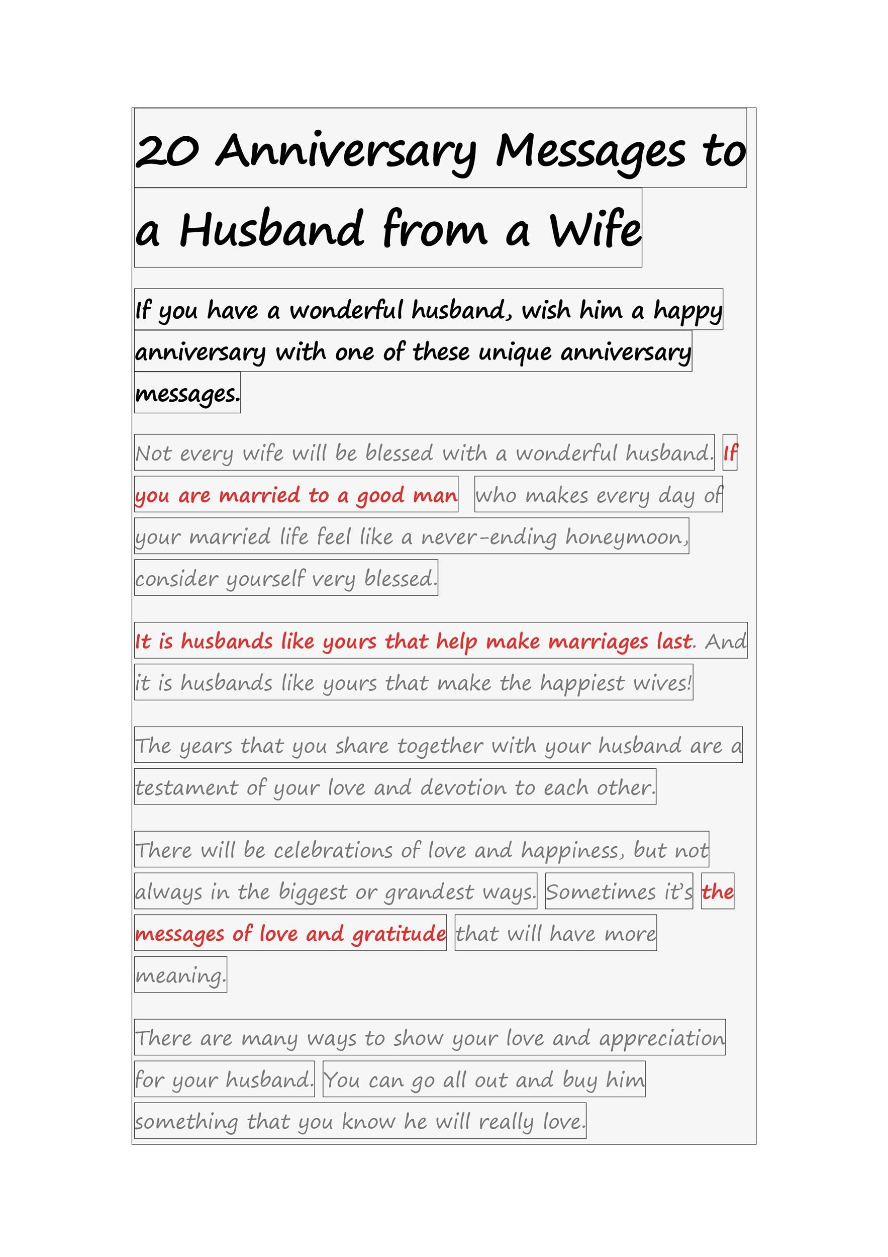 Letter To Husband To Save Marriage from templatelab.com