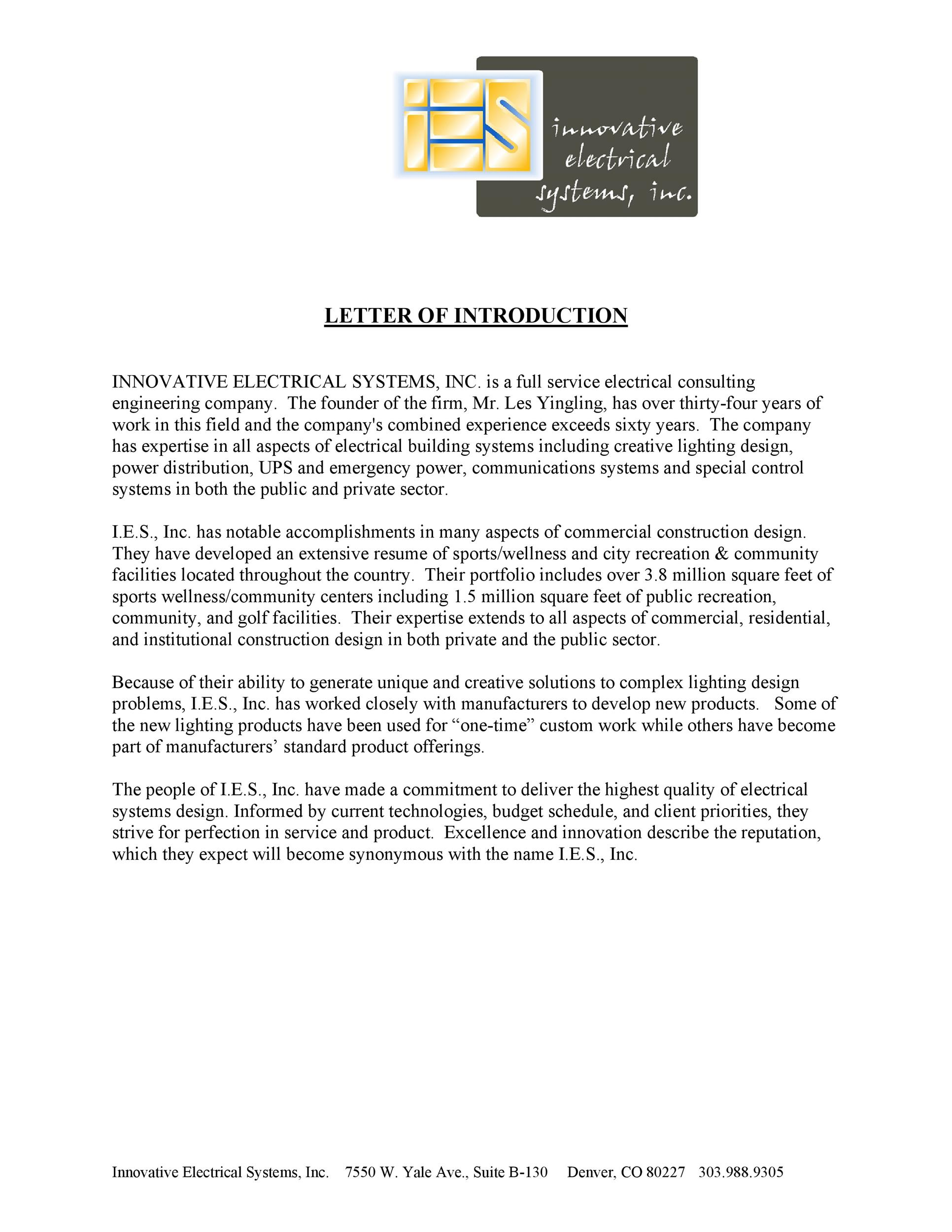 Free business introduction letter 09