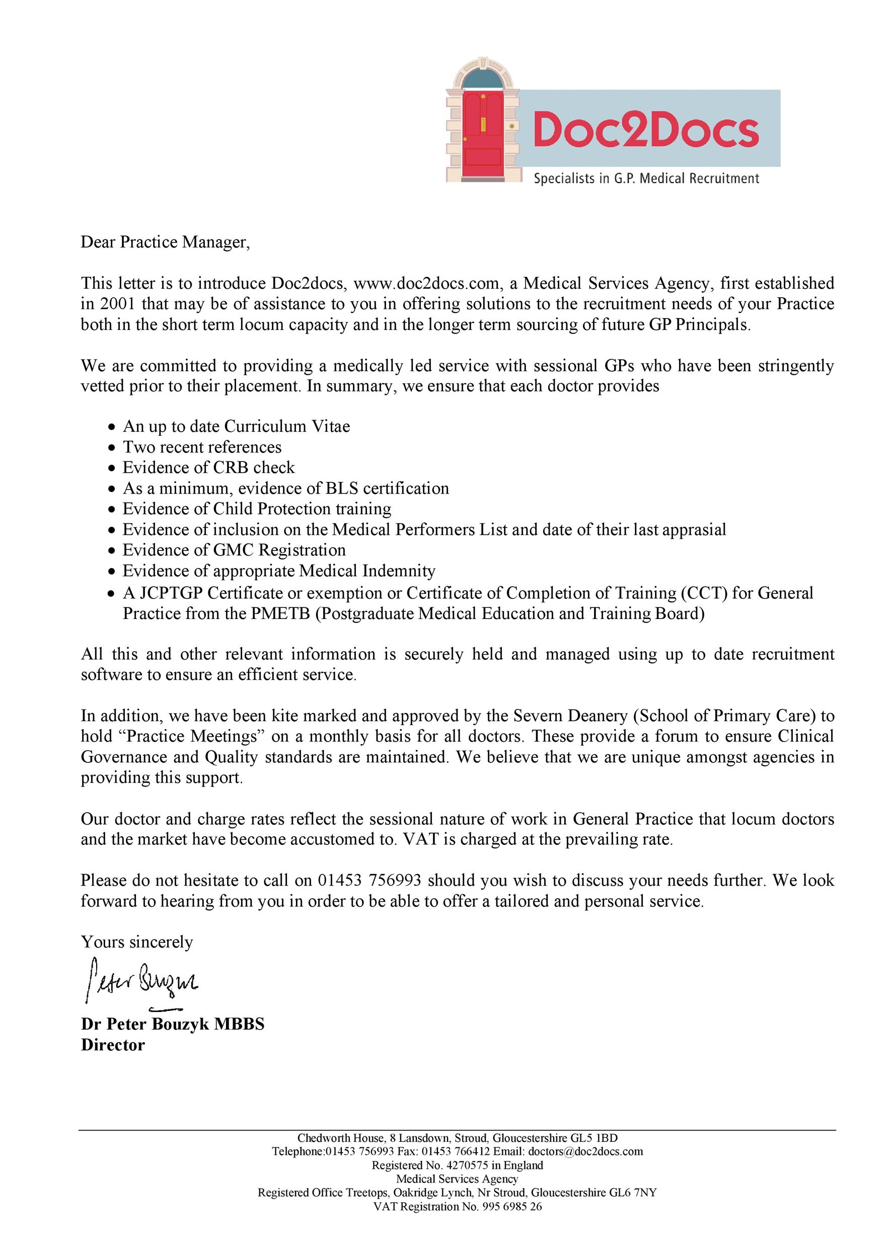 Free business introduction letter 27