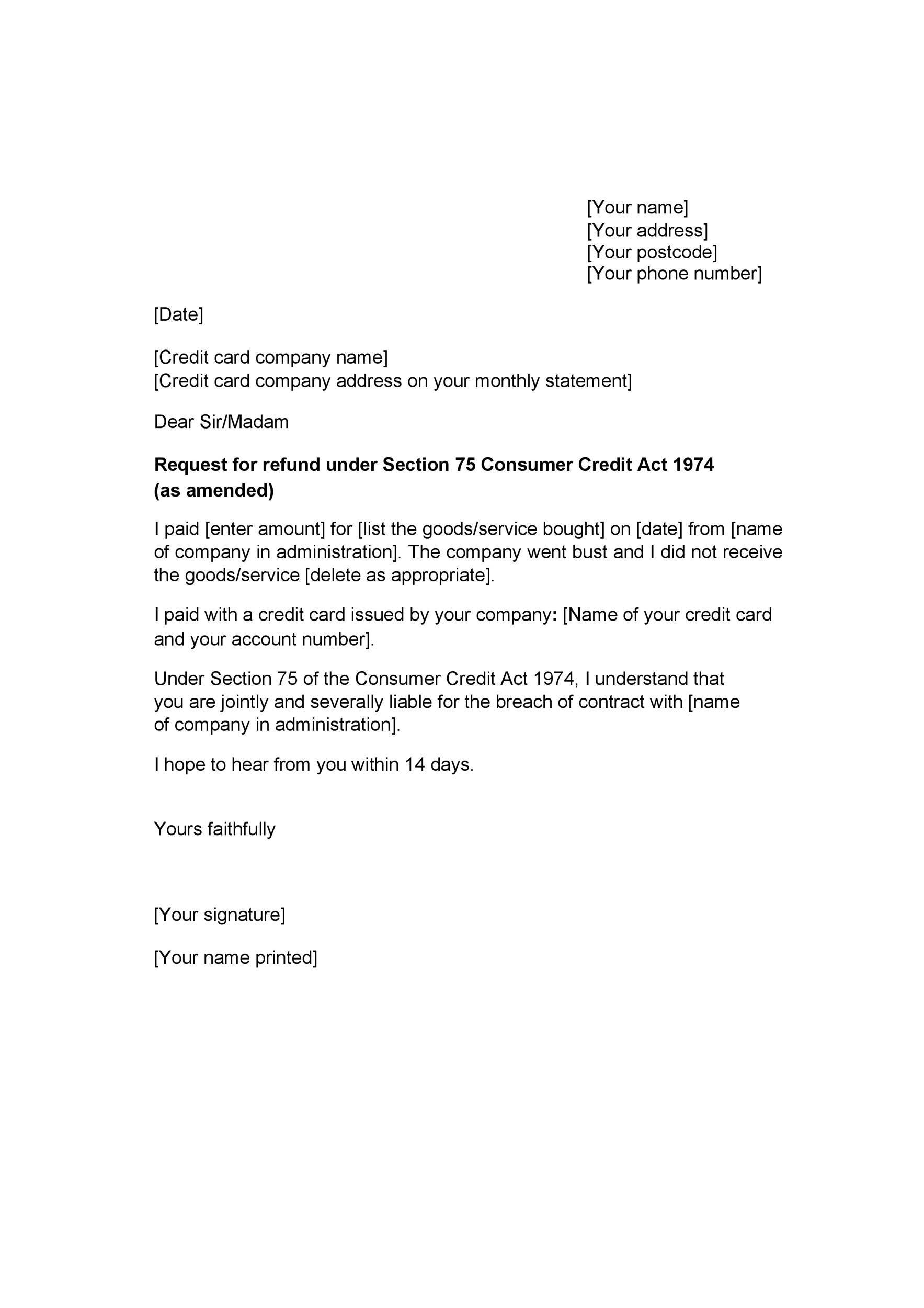 Free claim letter  11