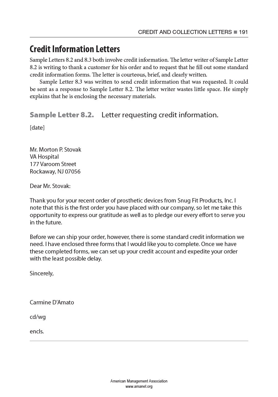 Free collection letter template 31