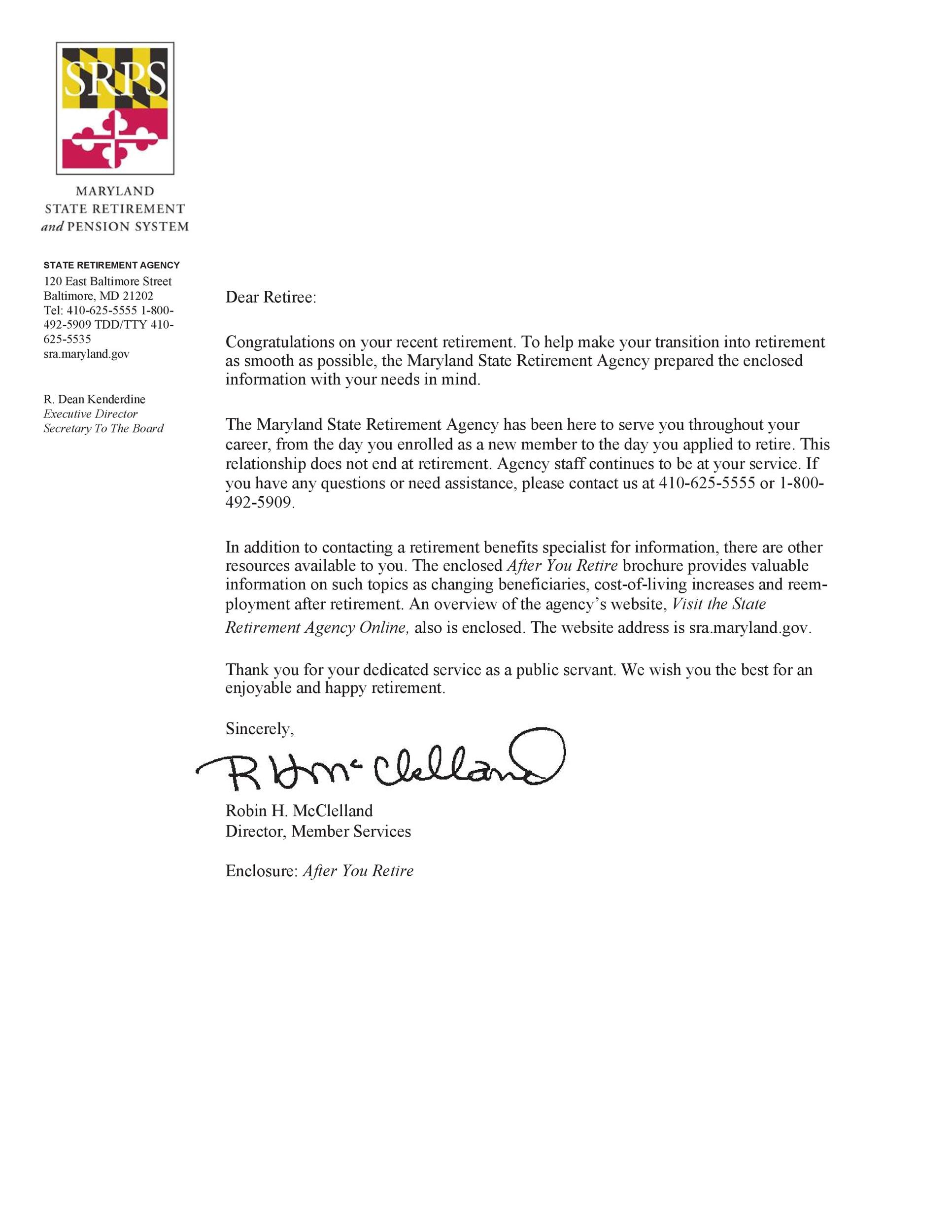 Free congratulations letter 01