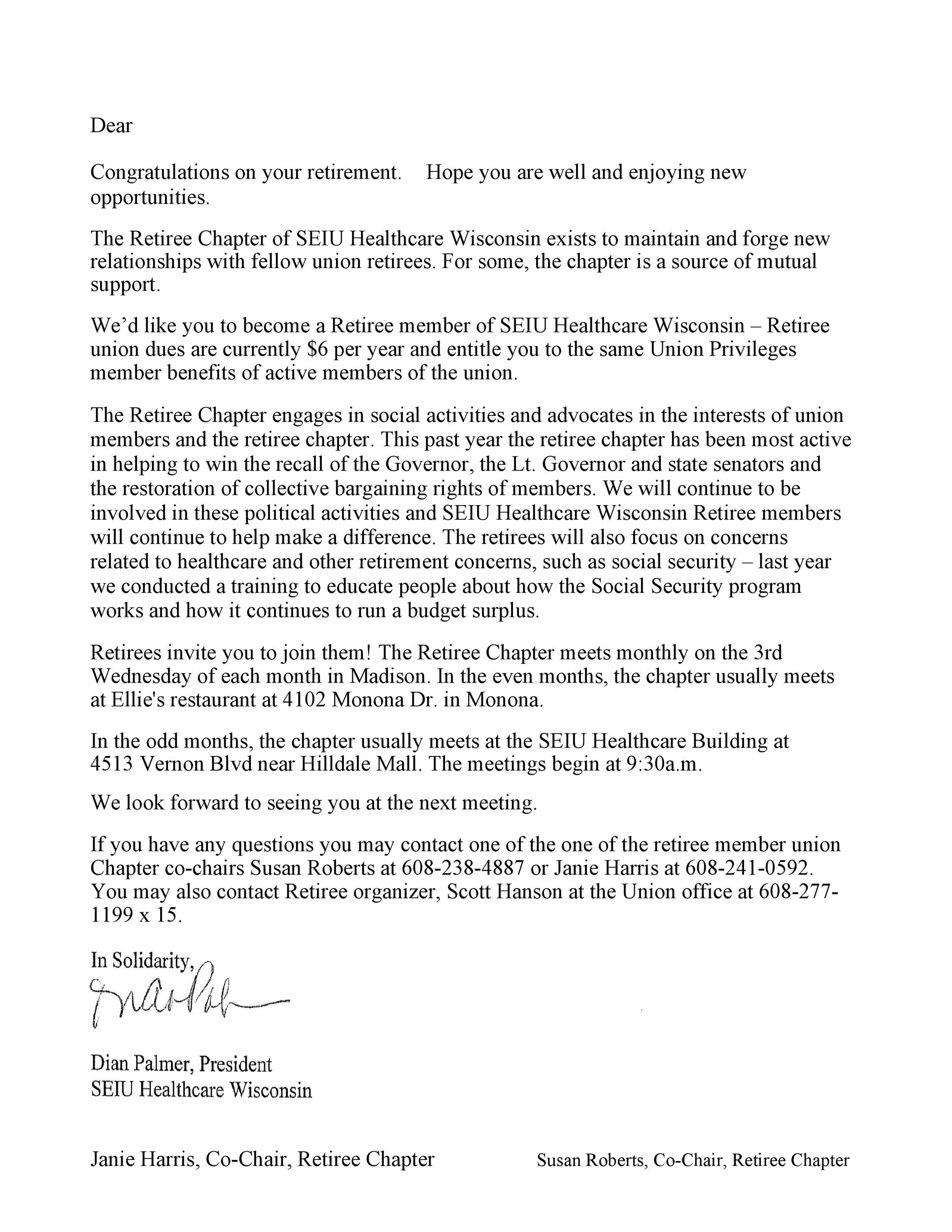 Free congratulations letter 03