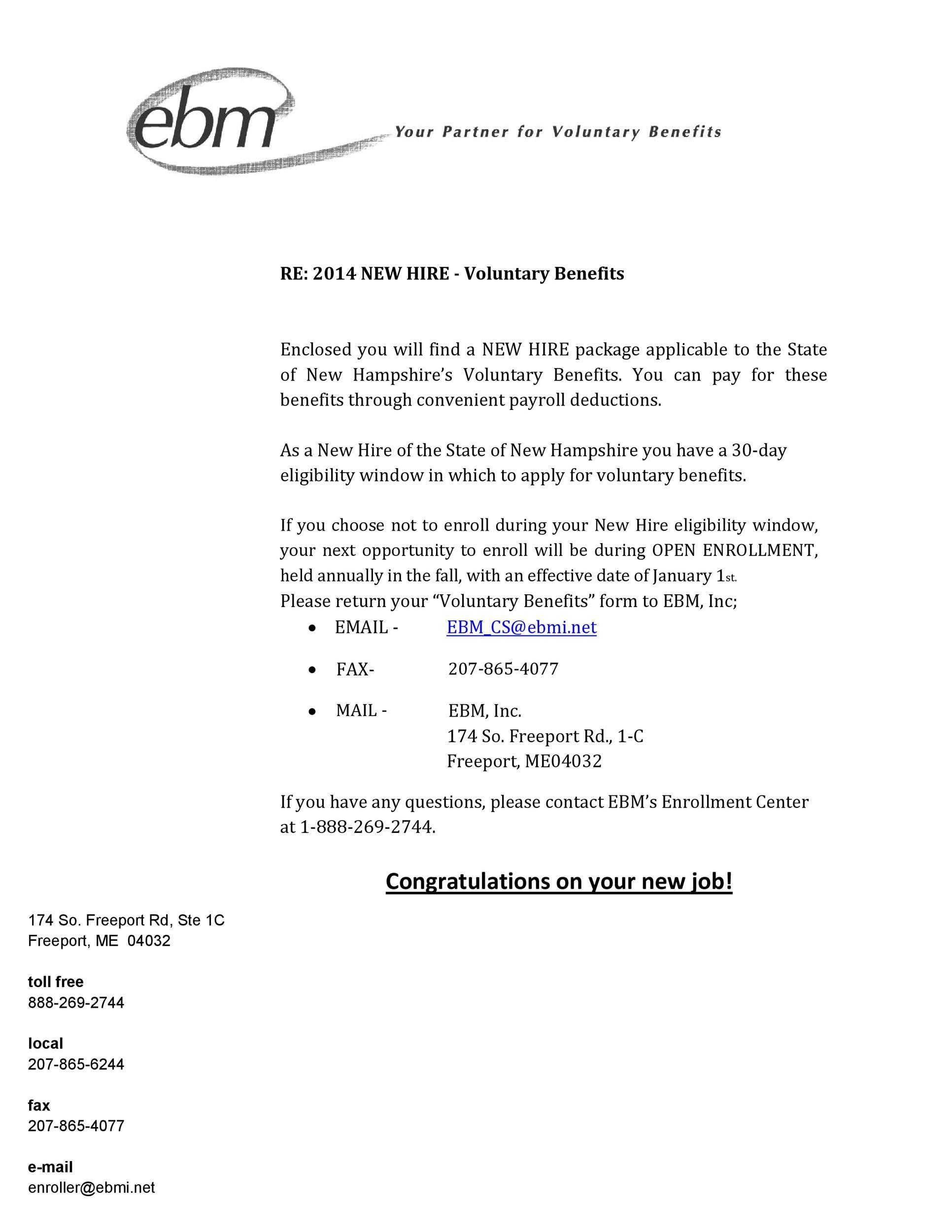 Free congratulations letter 16