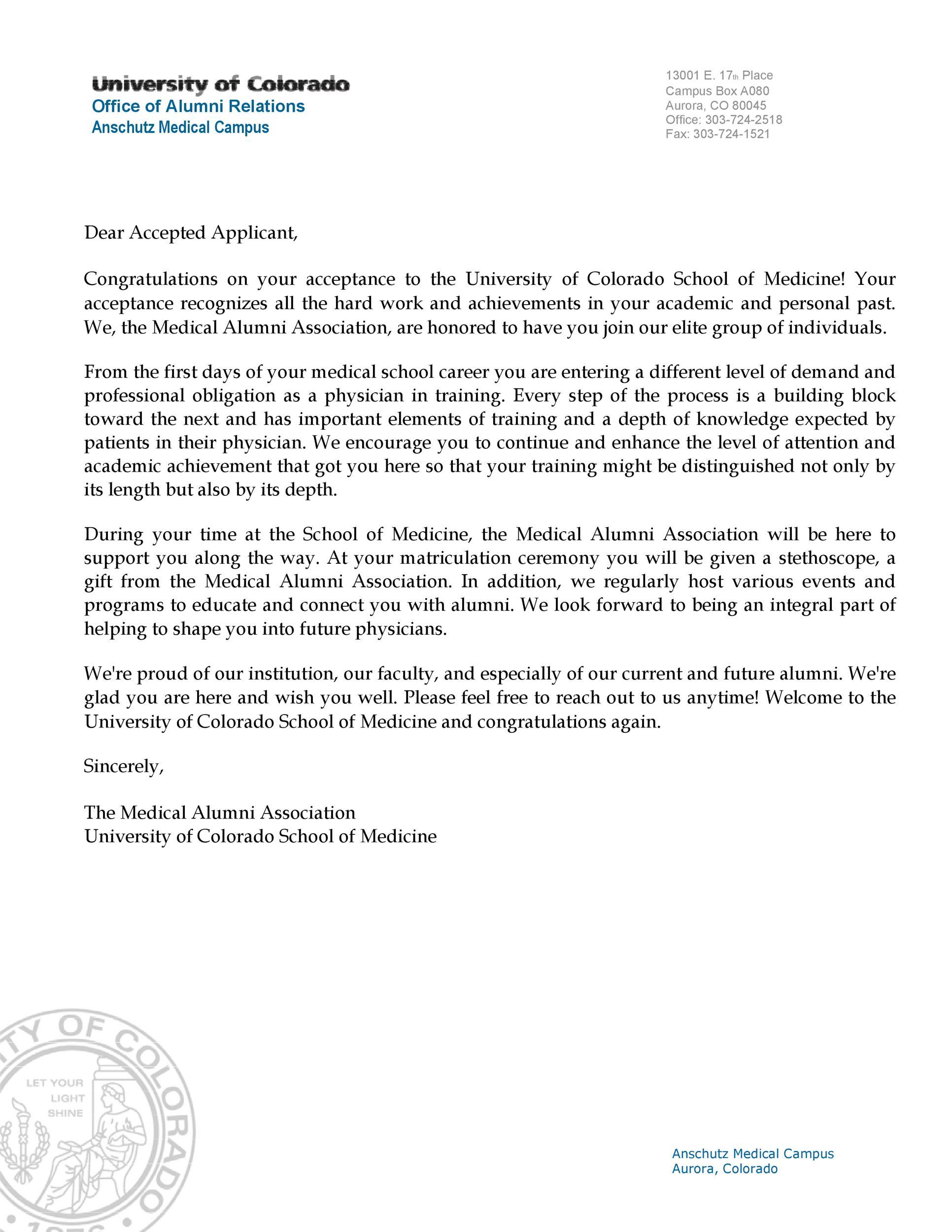 Free congratulations letter 17
