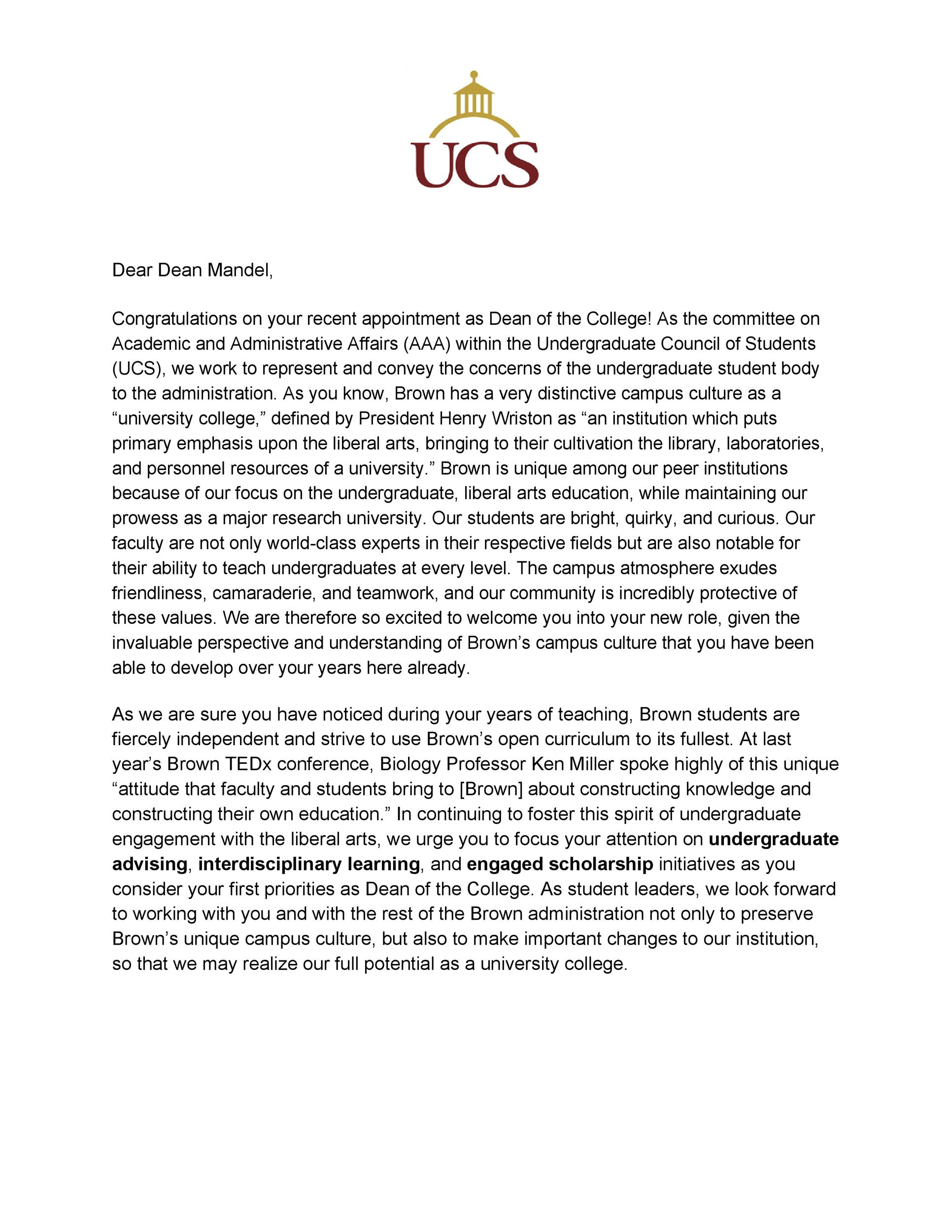 Free congratulations letter 20