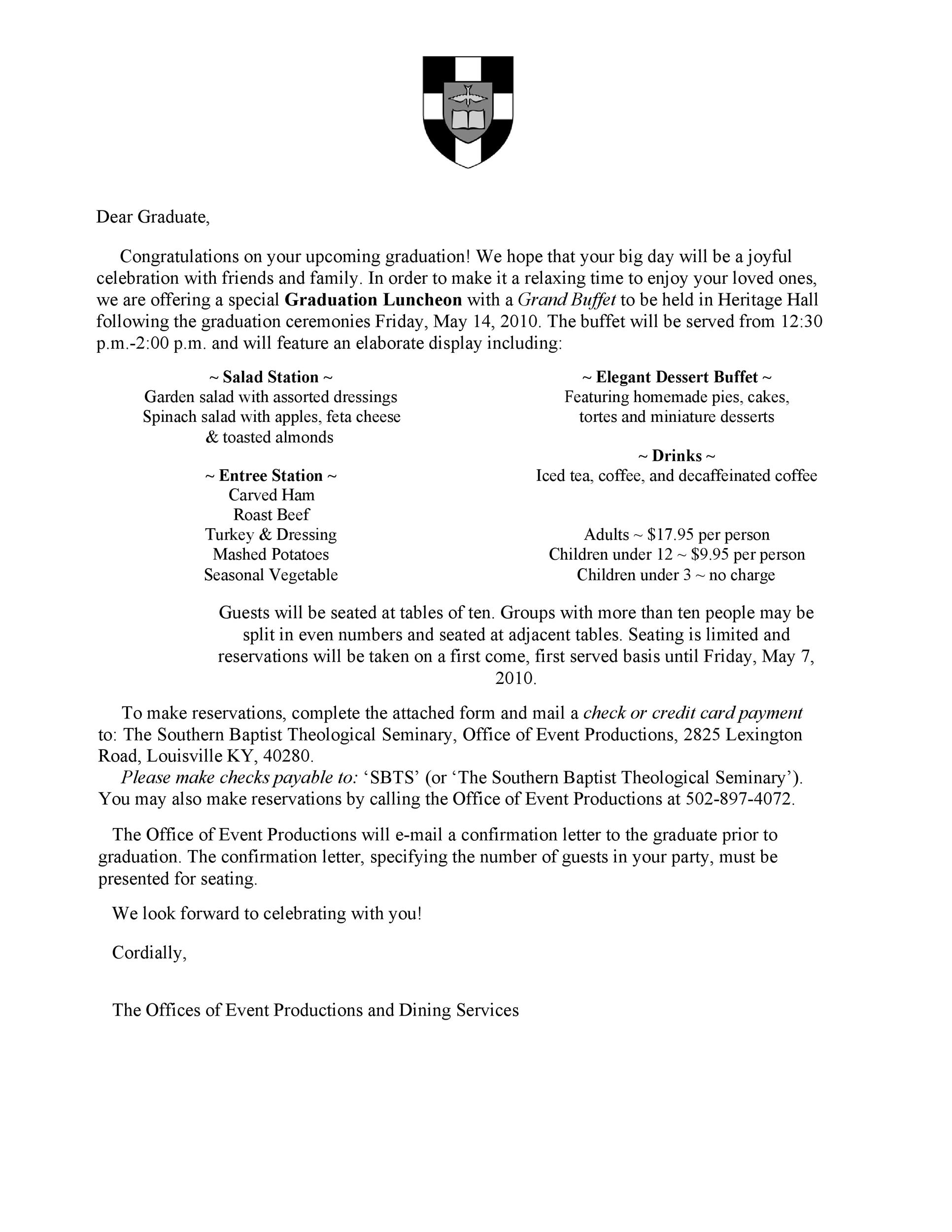 Free congratulations letter 32