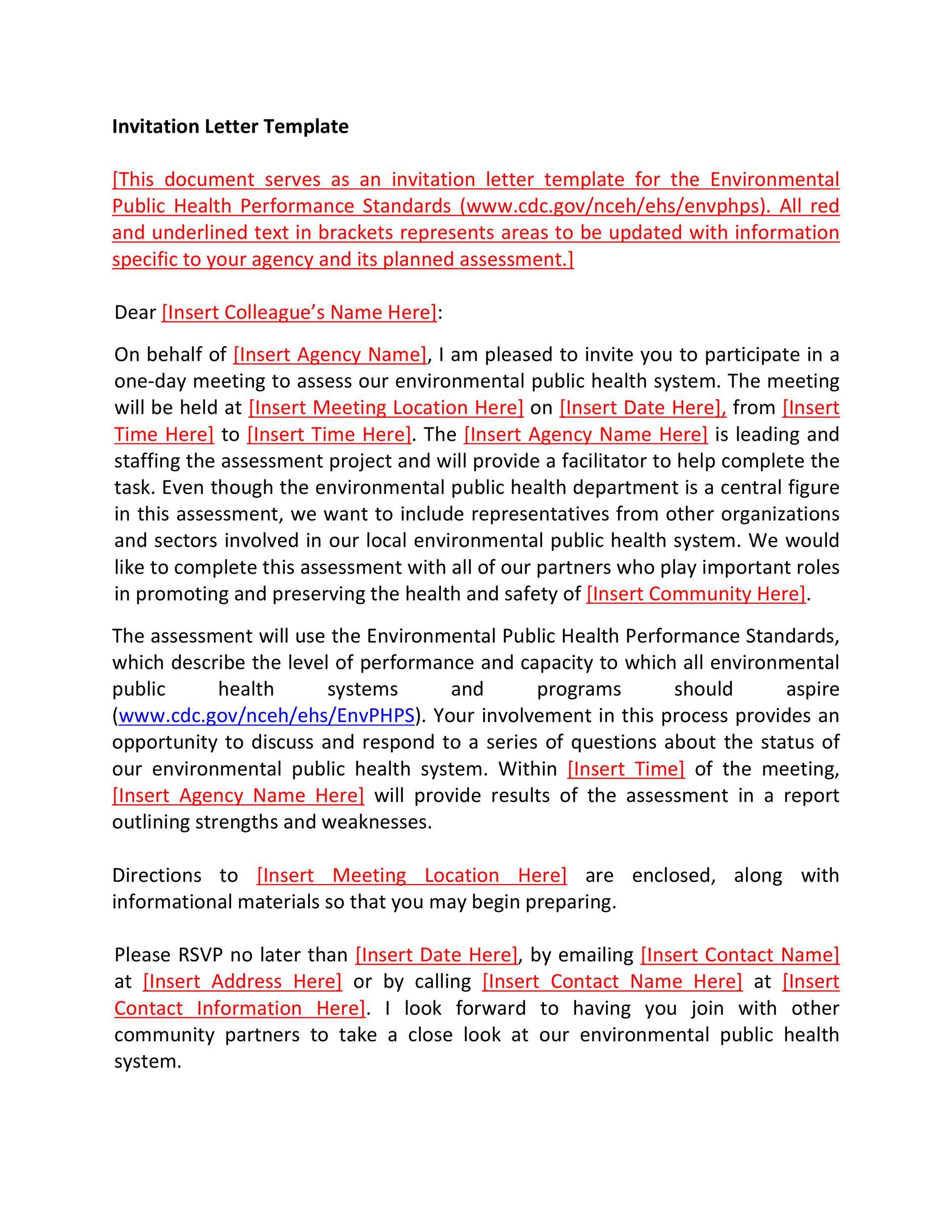 Free invitation letter 08