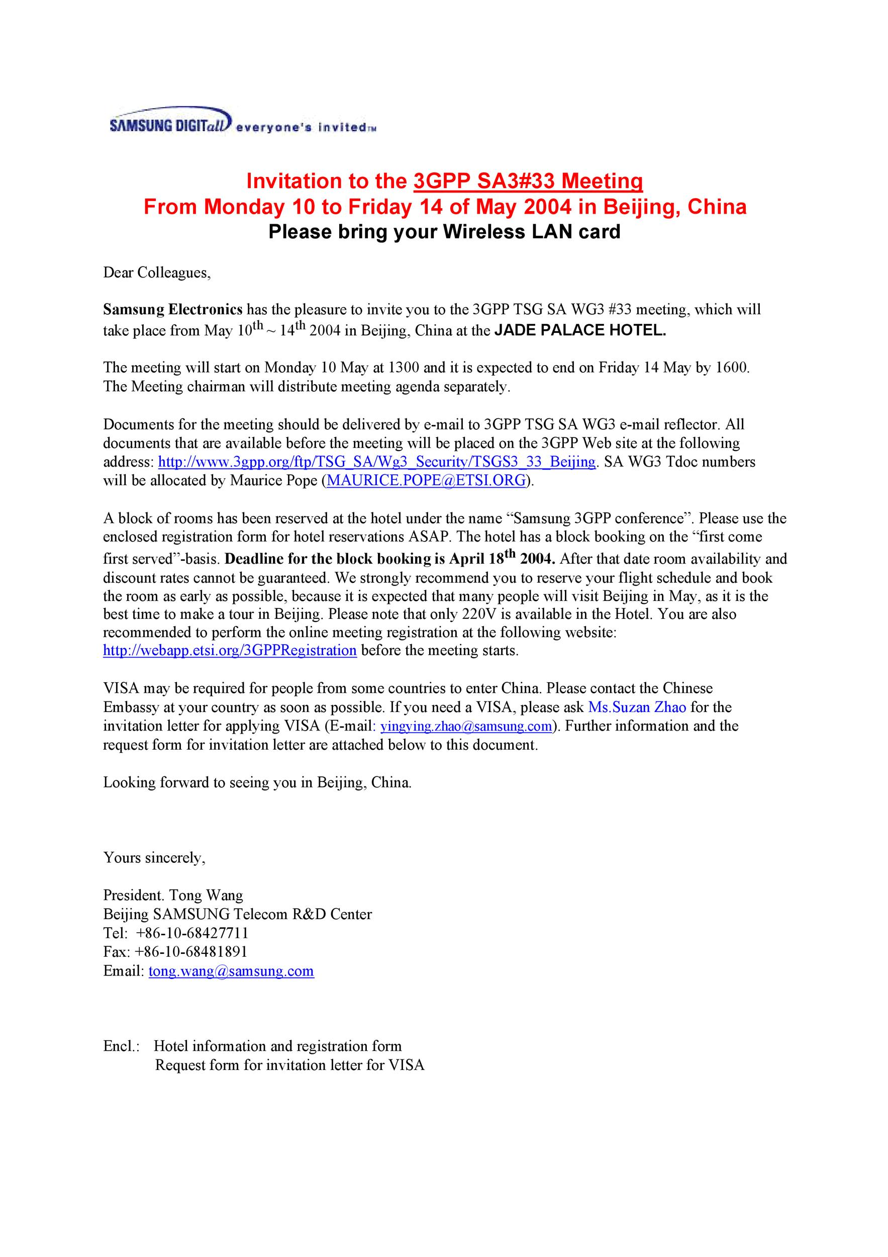 Free invitation letter 35