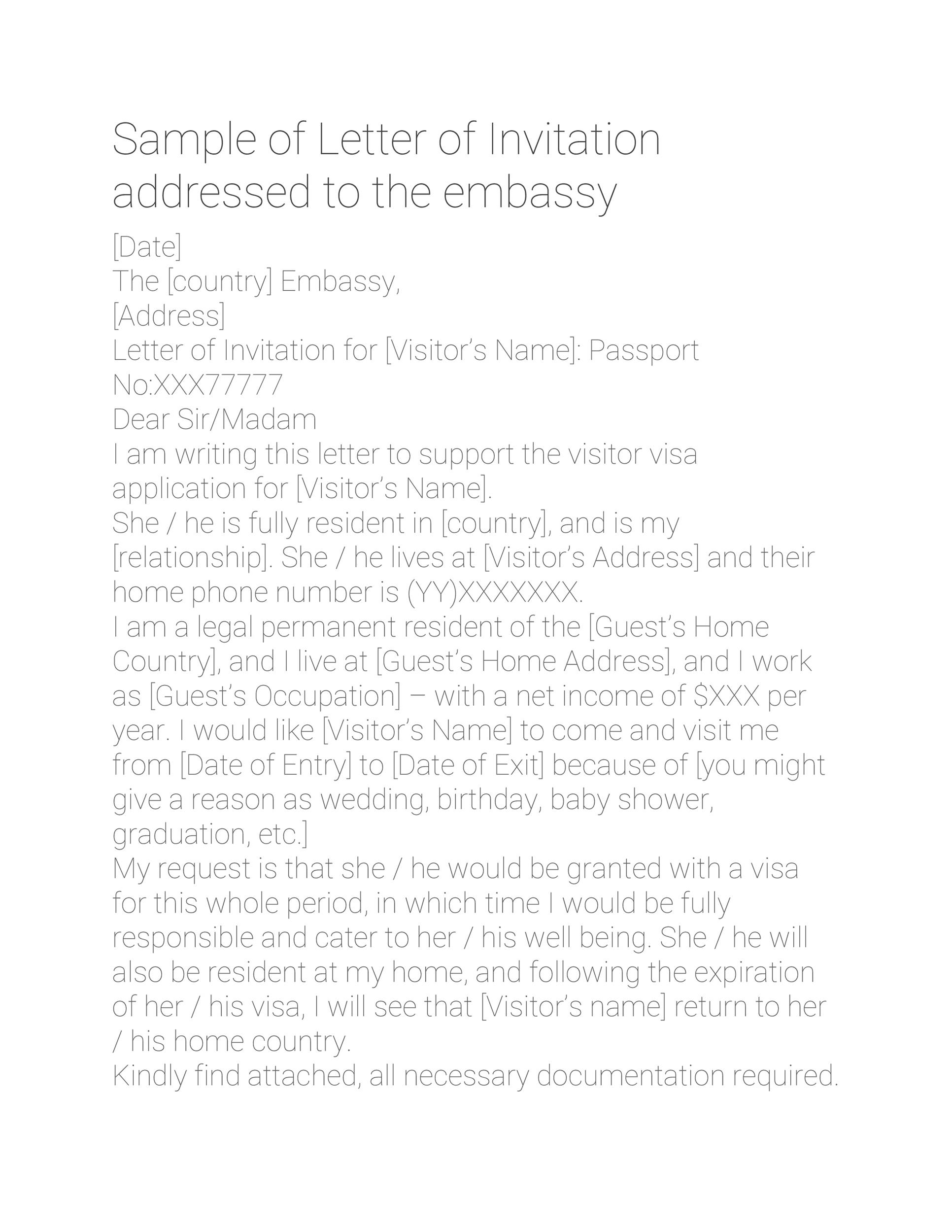 Free invitation letter 42