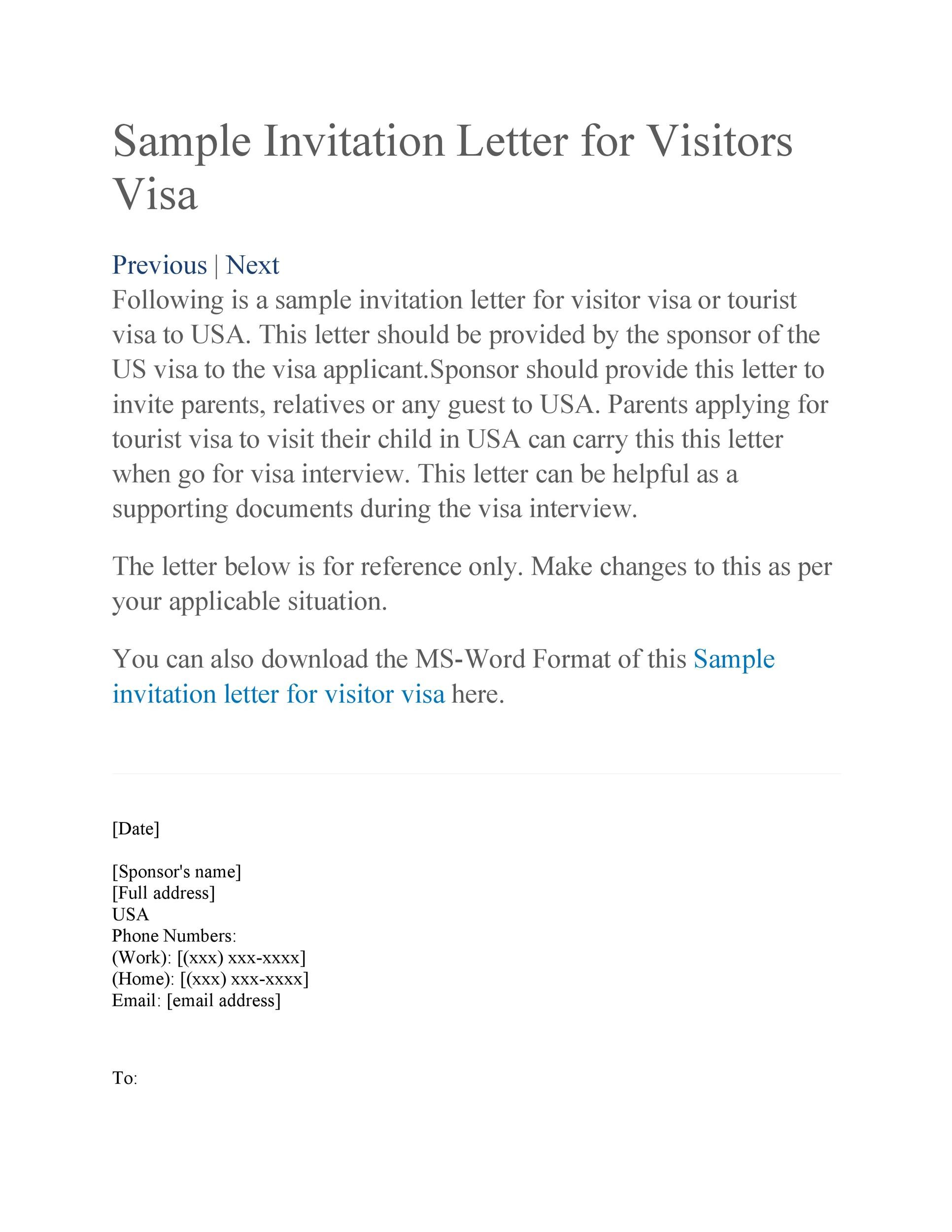 Free invitation letter 46