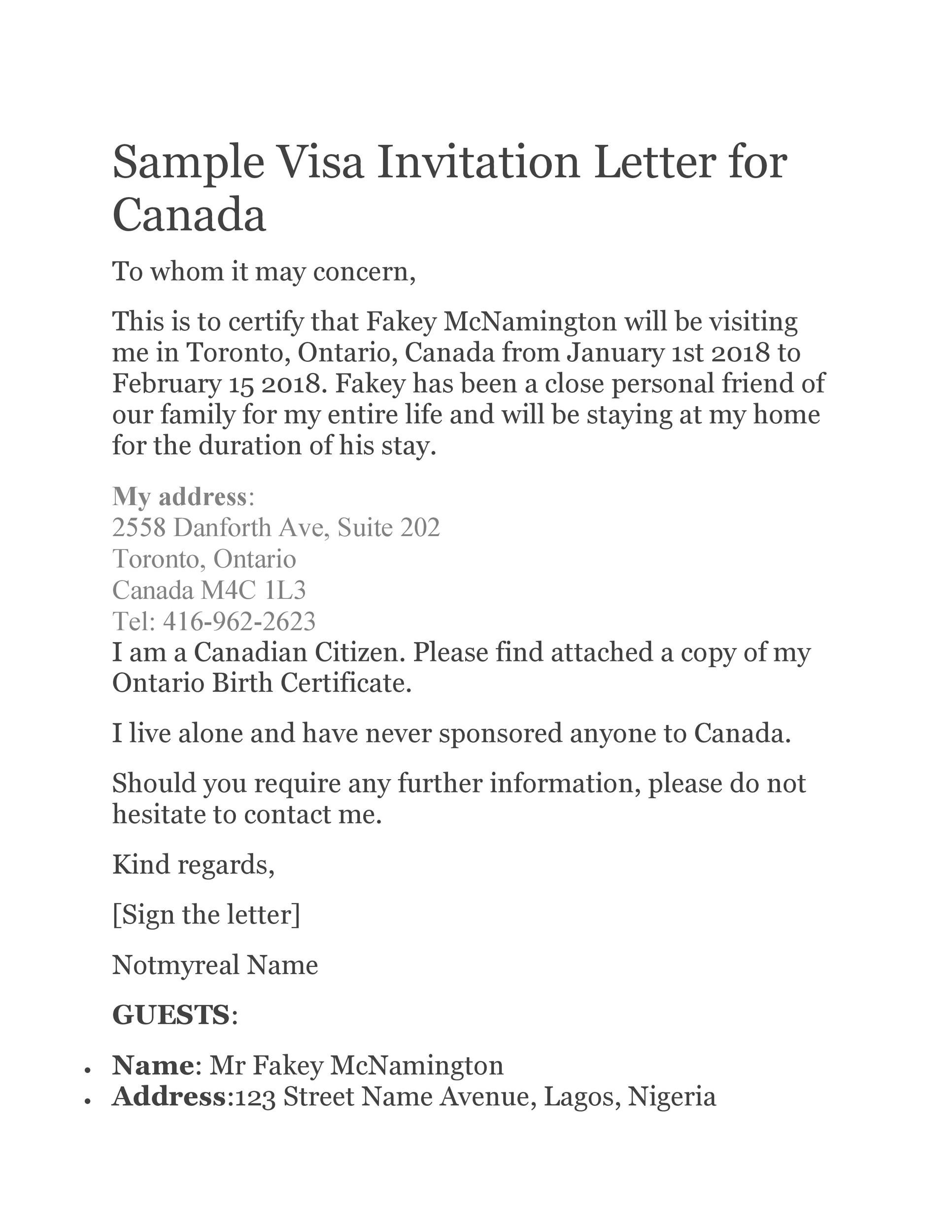 Free invitation letter 47