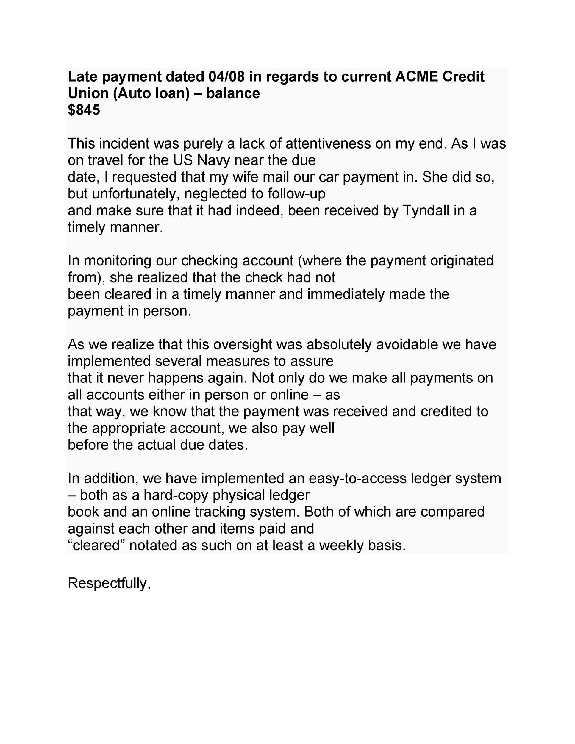Sample Letter Explaining Bad Credit To Landlord from templatelab.com