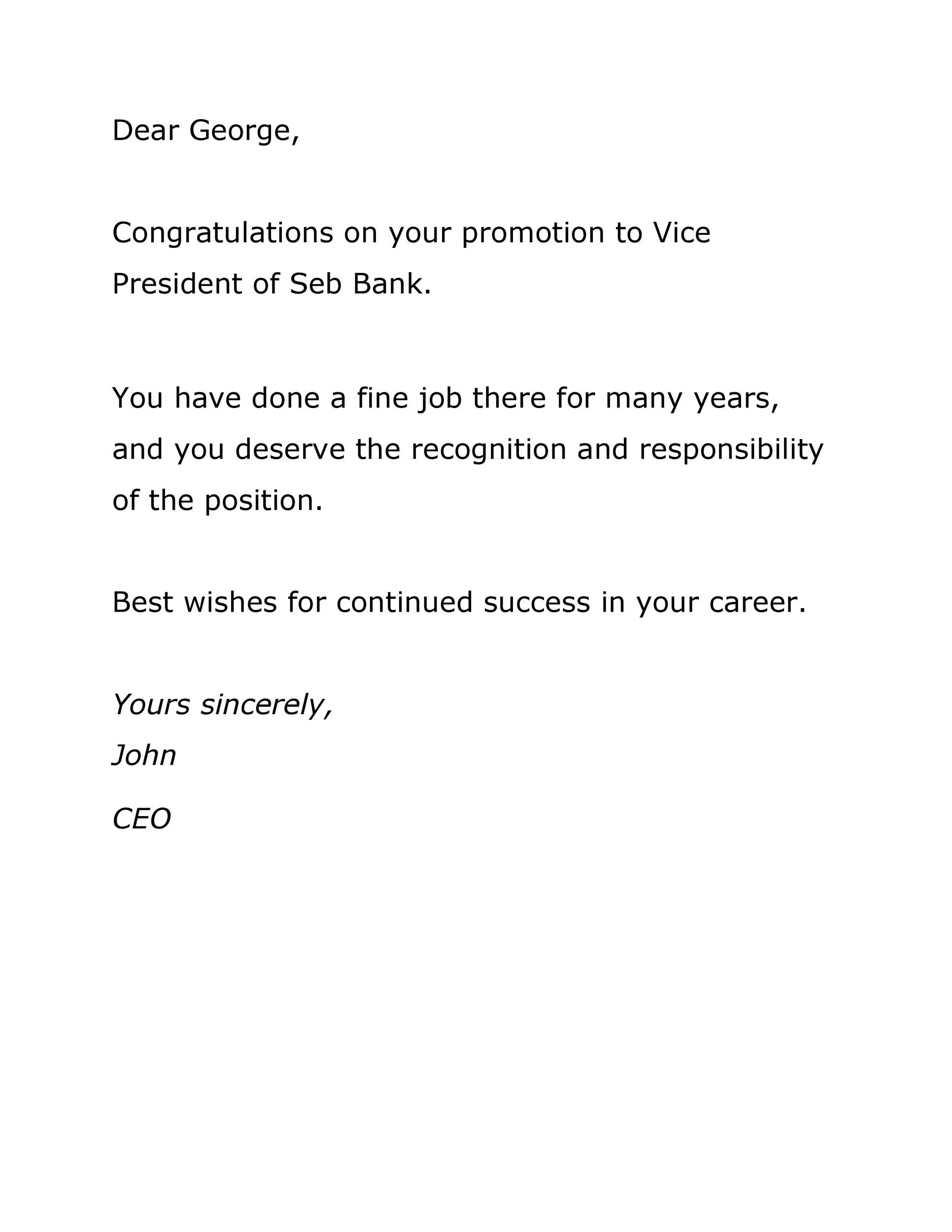 Free promotion letter 41