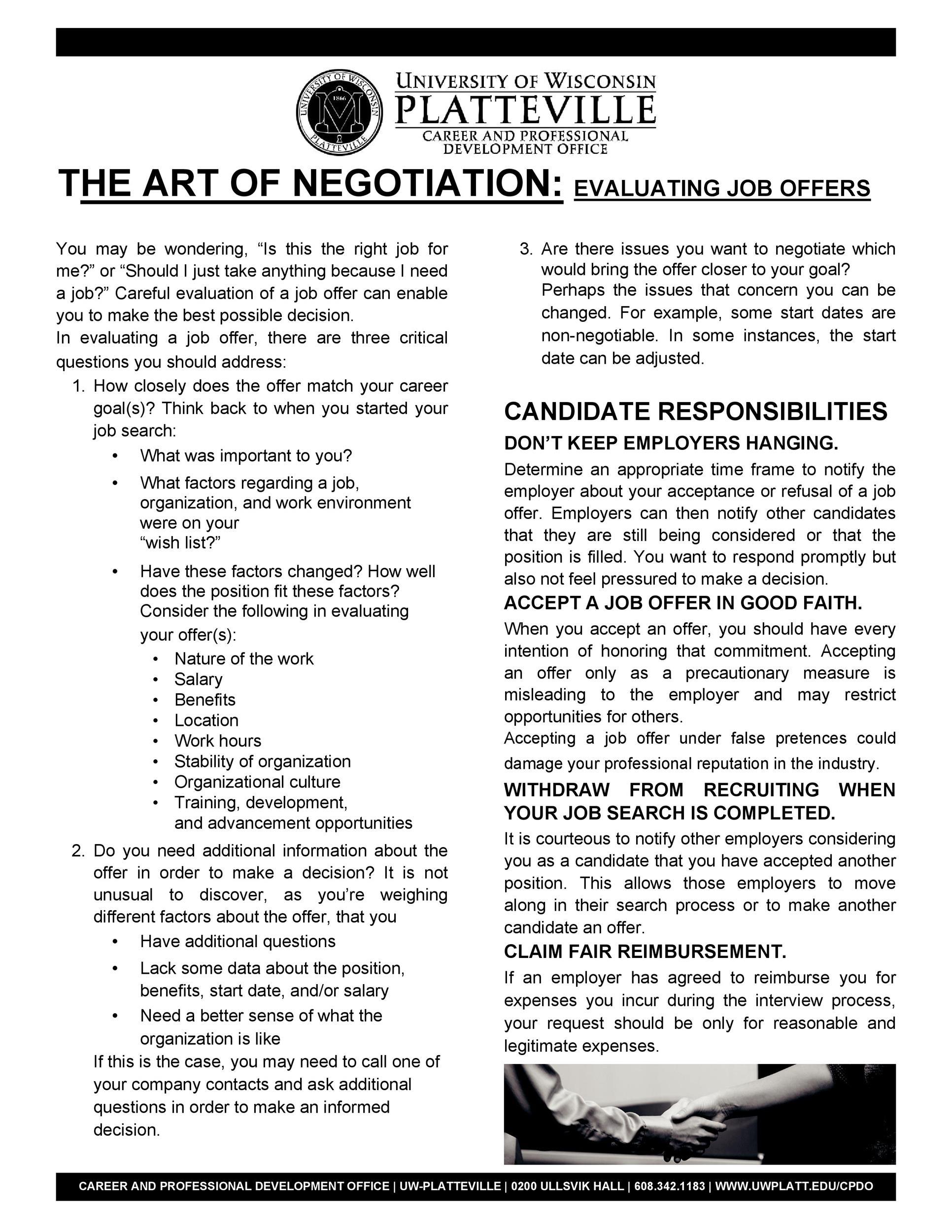 Lettre gratuite pour les négociations salariales 07