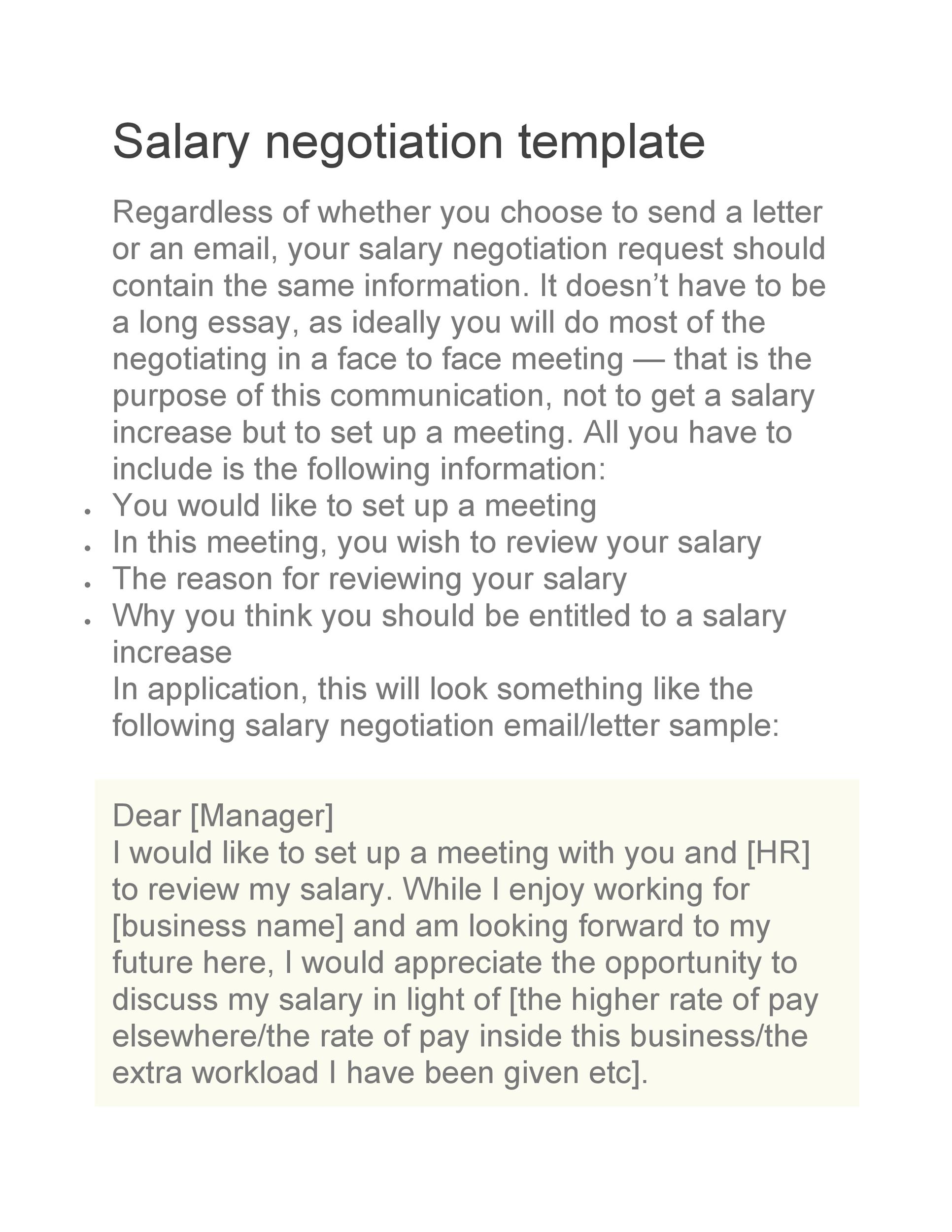 Free salary negotiation letter 27