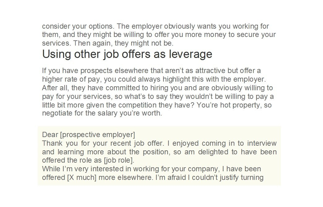 Free salary negotiation letter 28