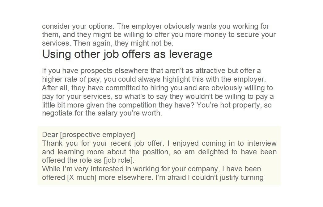 Lettre gratuite pour les négociations salariales 28