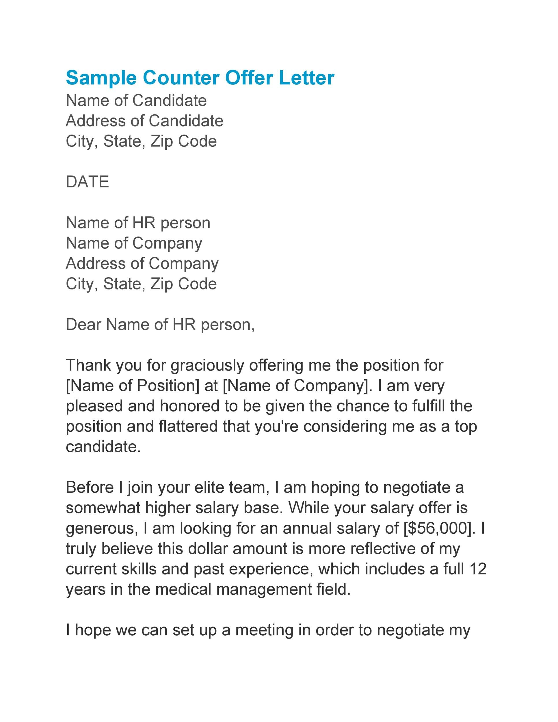 Free salary negotiation letter 33