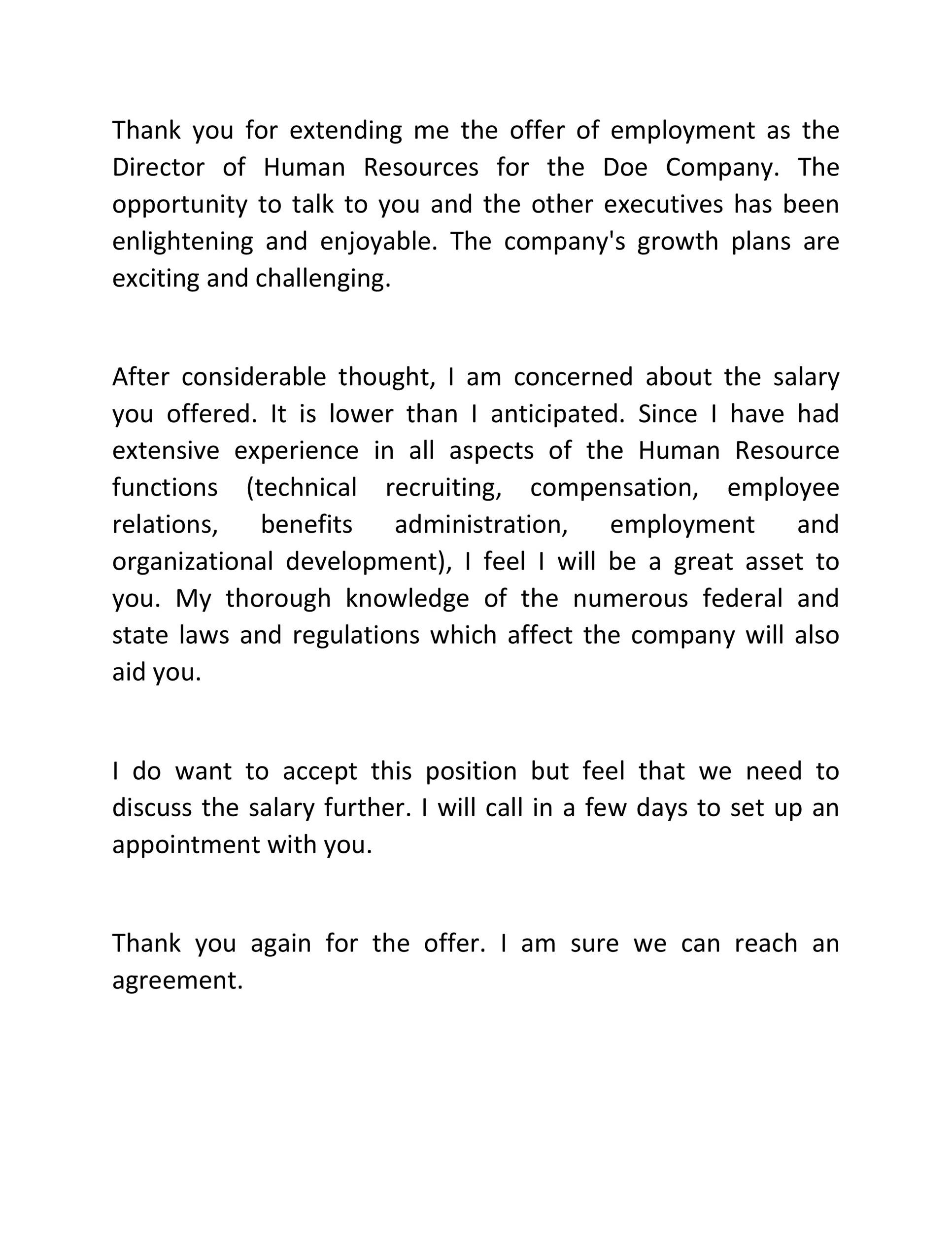 Free salary negotiation letter 39