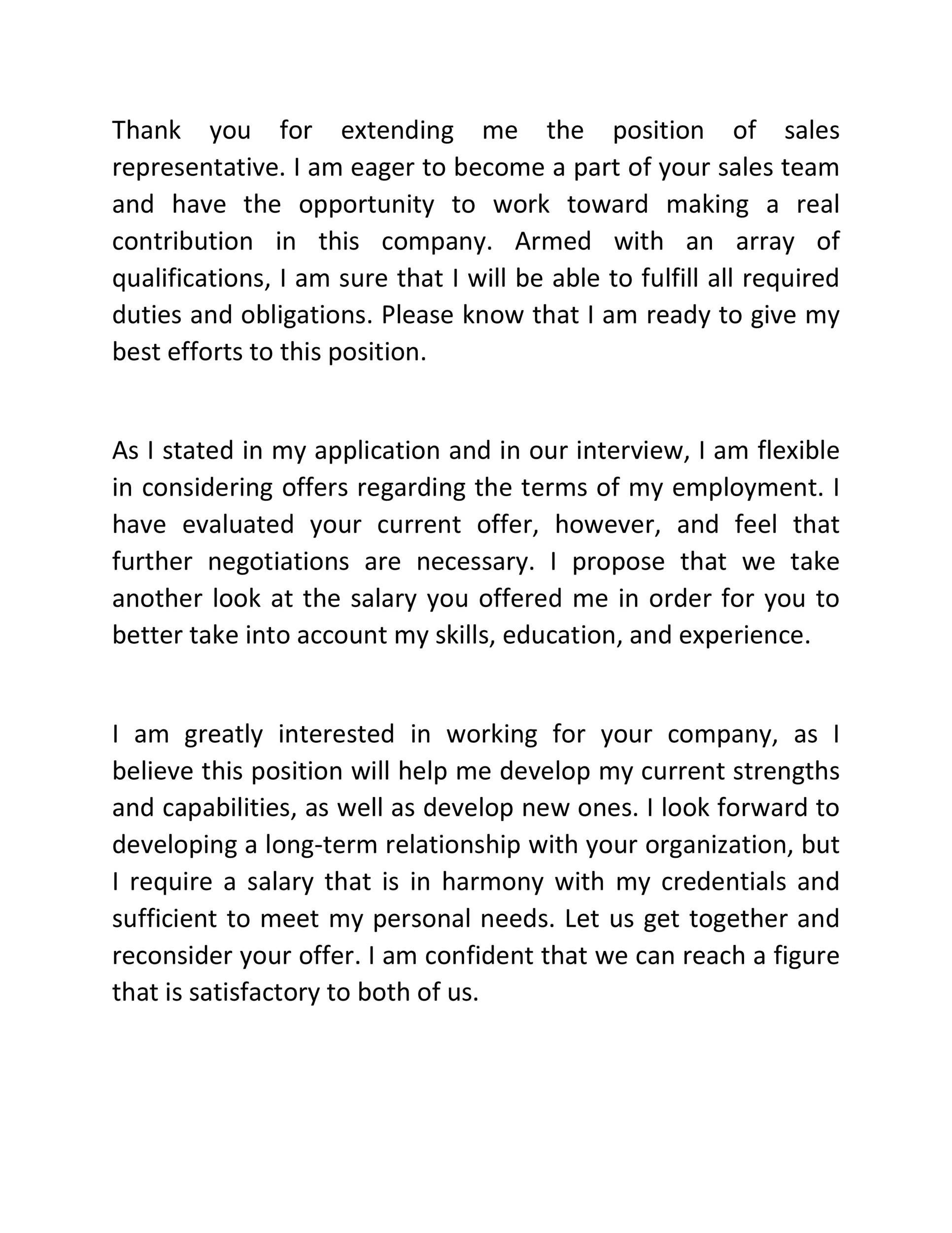 Free salary negotiation letter 42