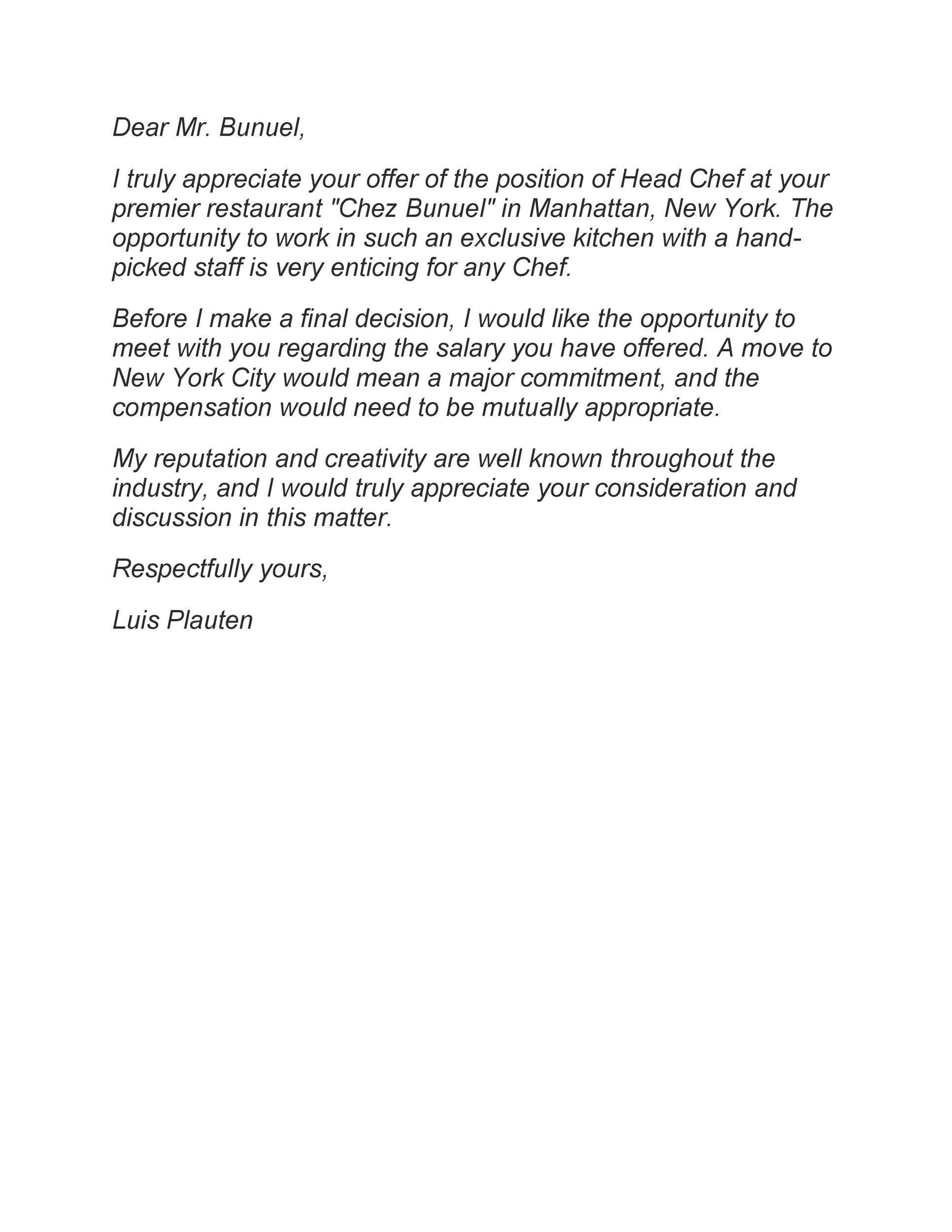 Free salary negotiation letter 43