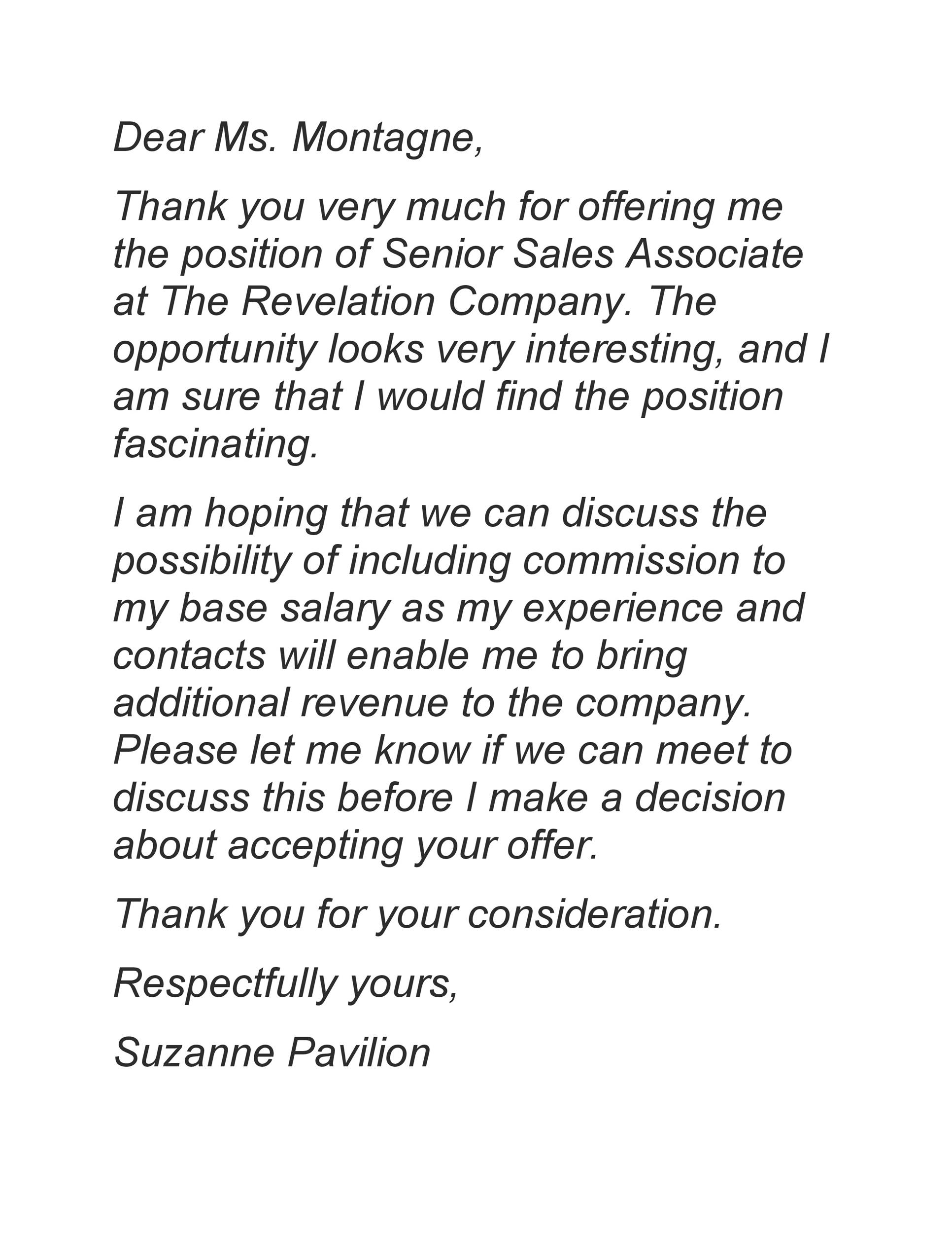 Free salary negotiation letter 44