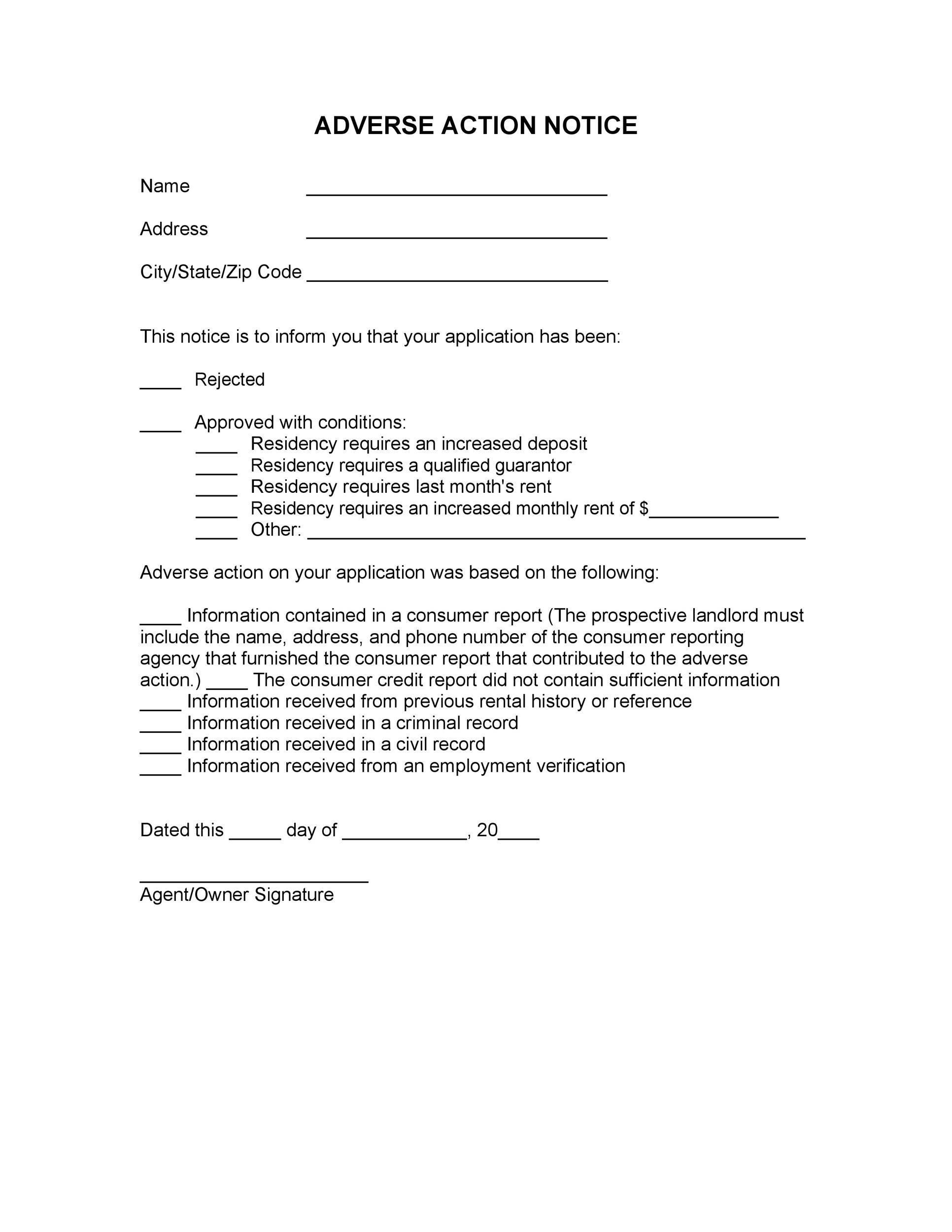 Free adverse action notice 04