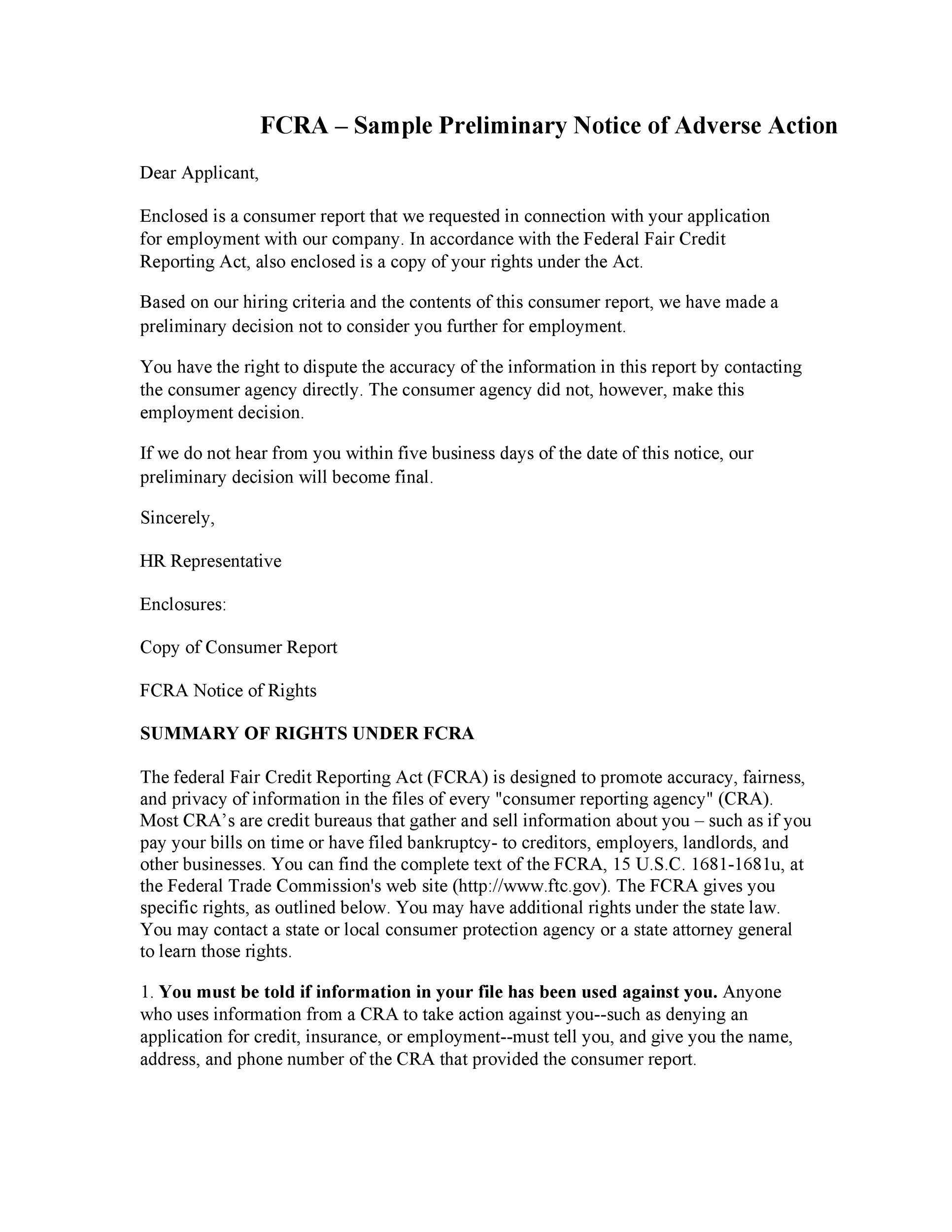 Free adverse action notice 08