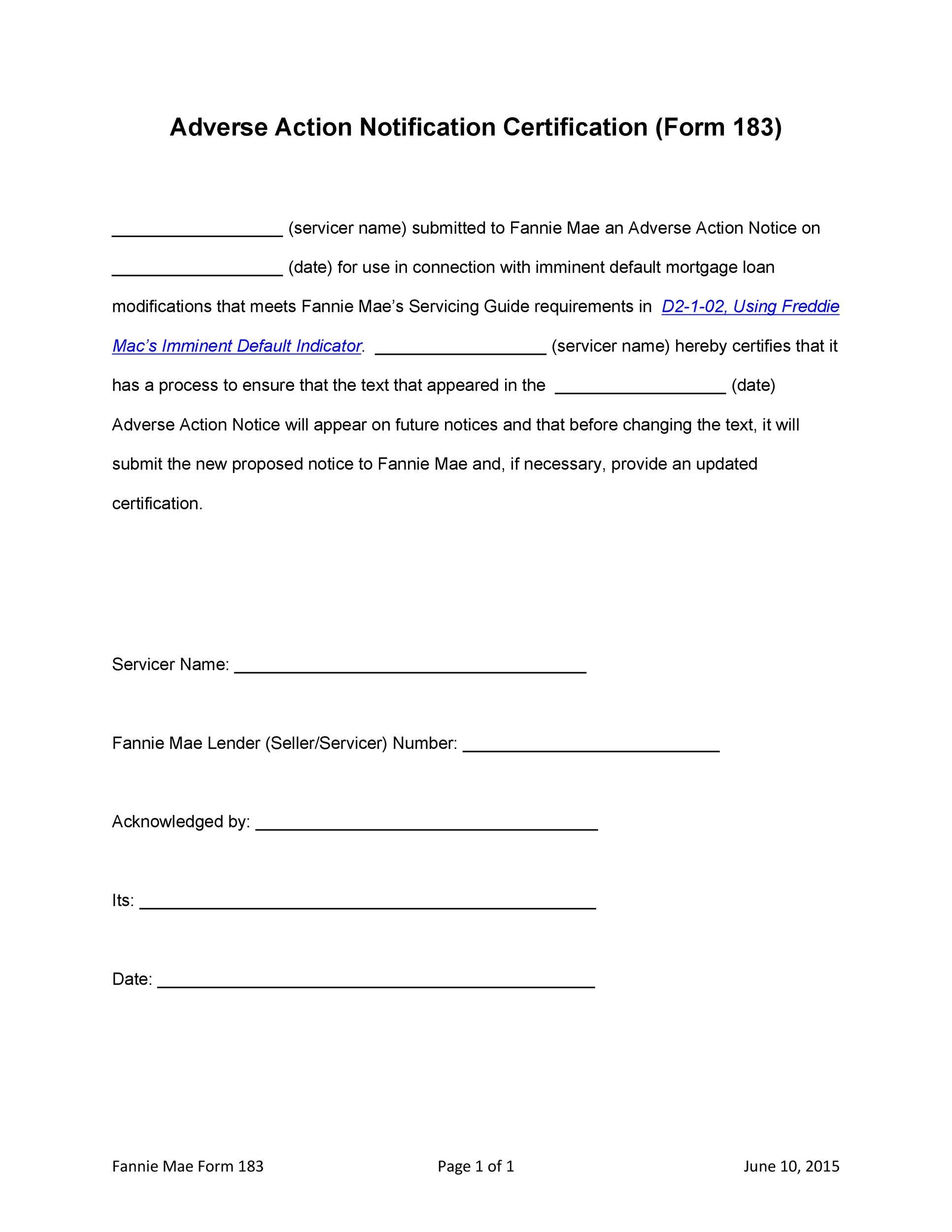 Free adverse action notice 23