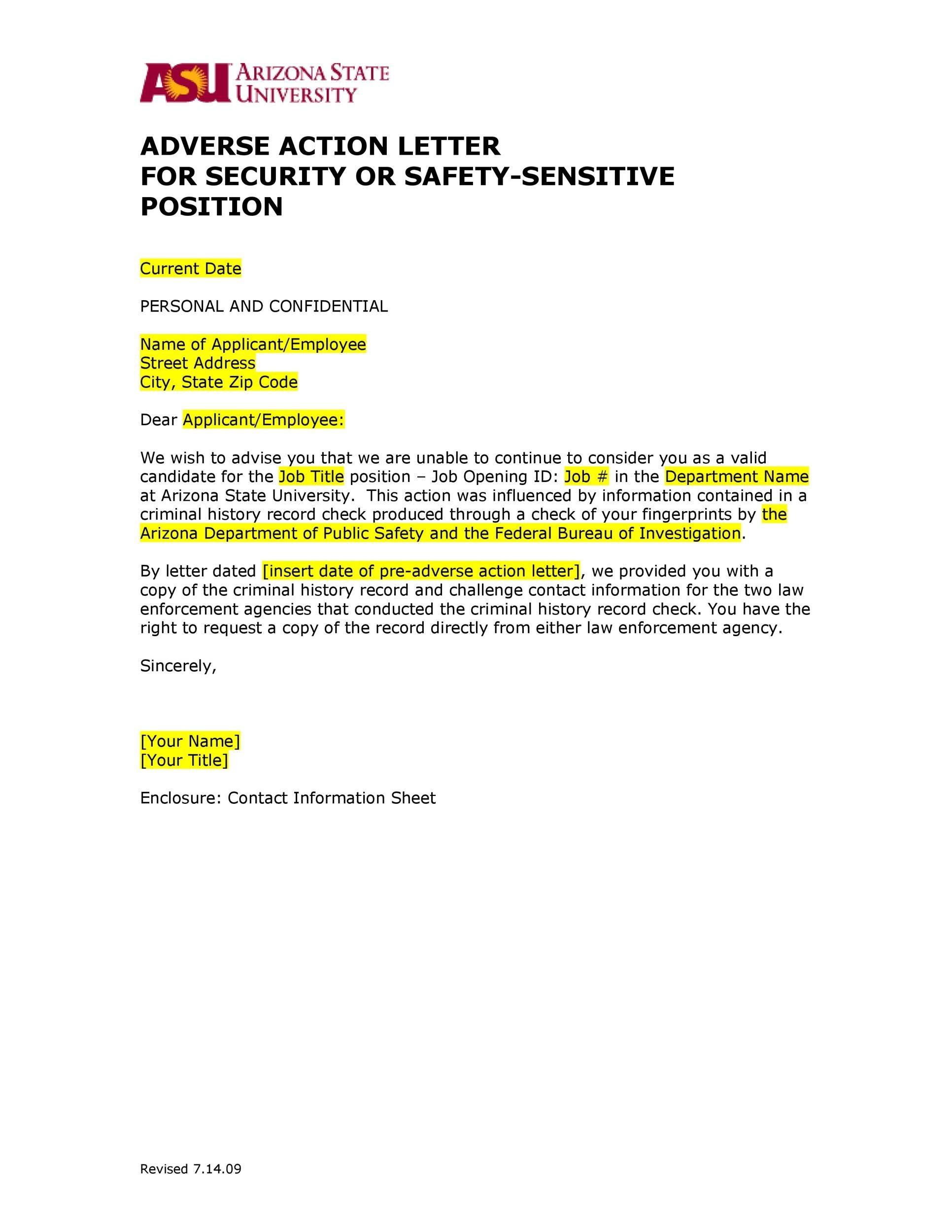 Free adverse action notice 35