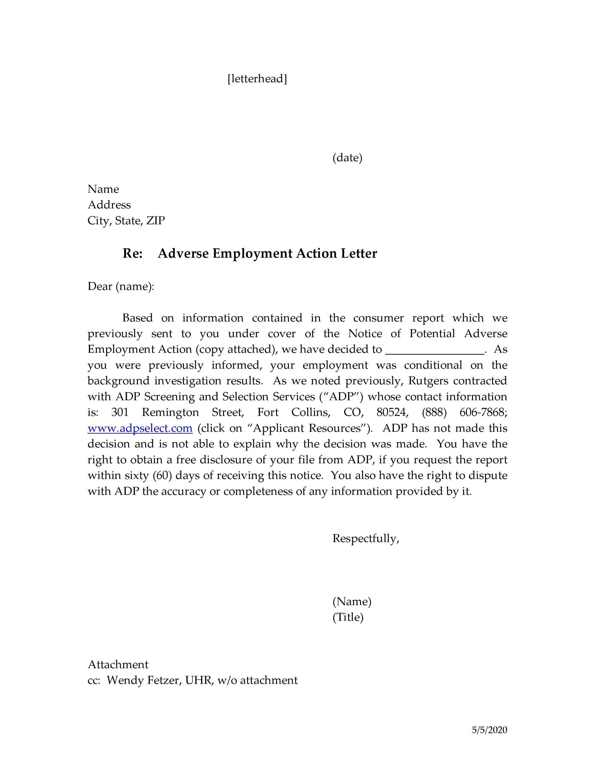 Free adverse action notice 37