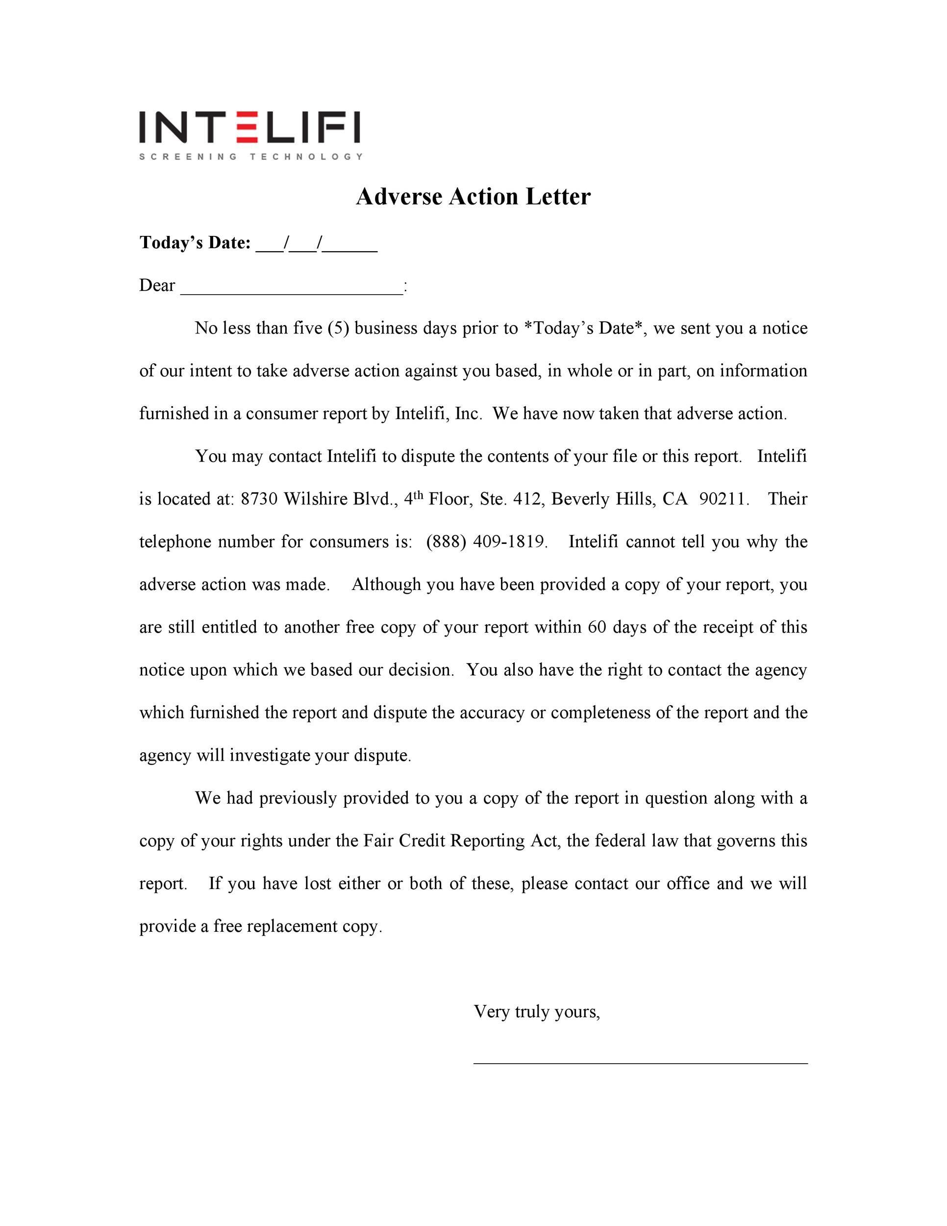 Free adverse action notice 39