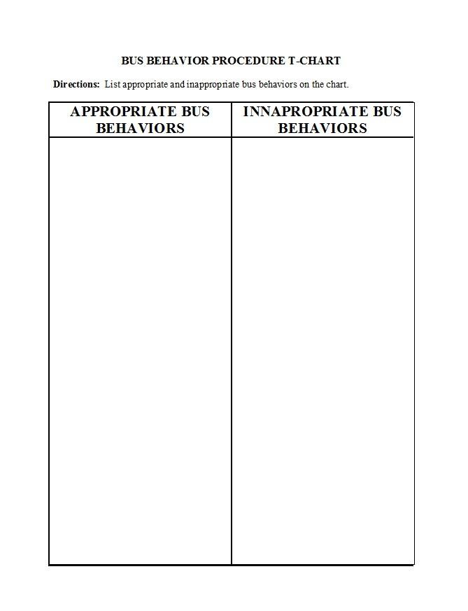 Free behavior chart 06