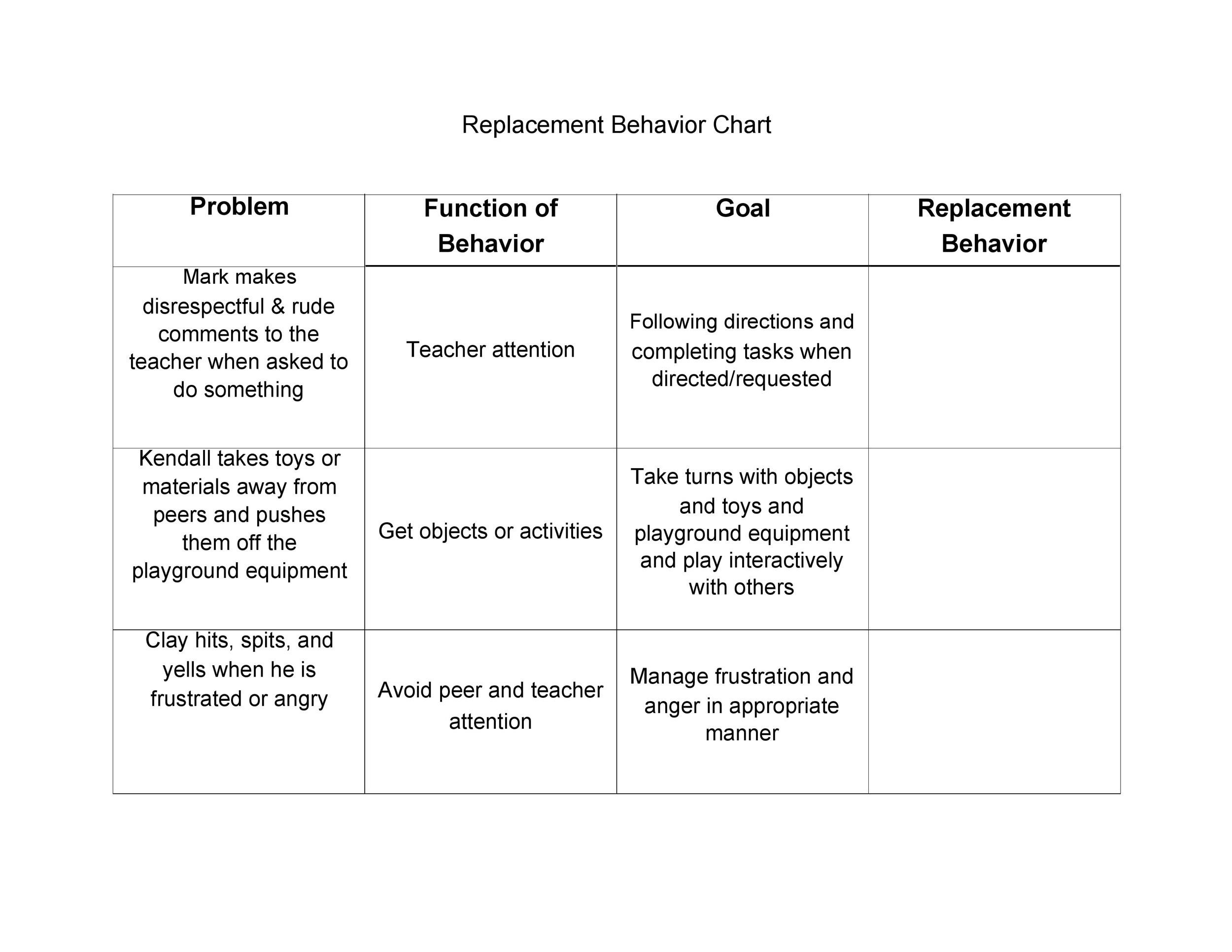 Free behavior chart 16
