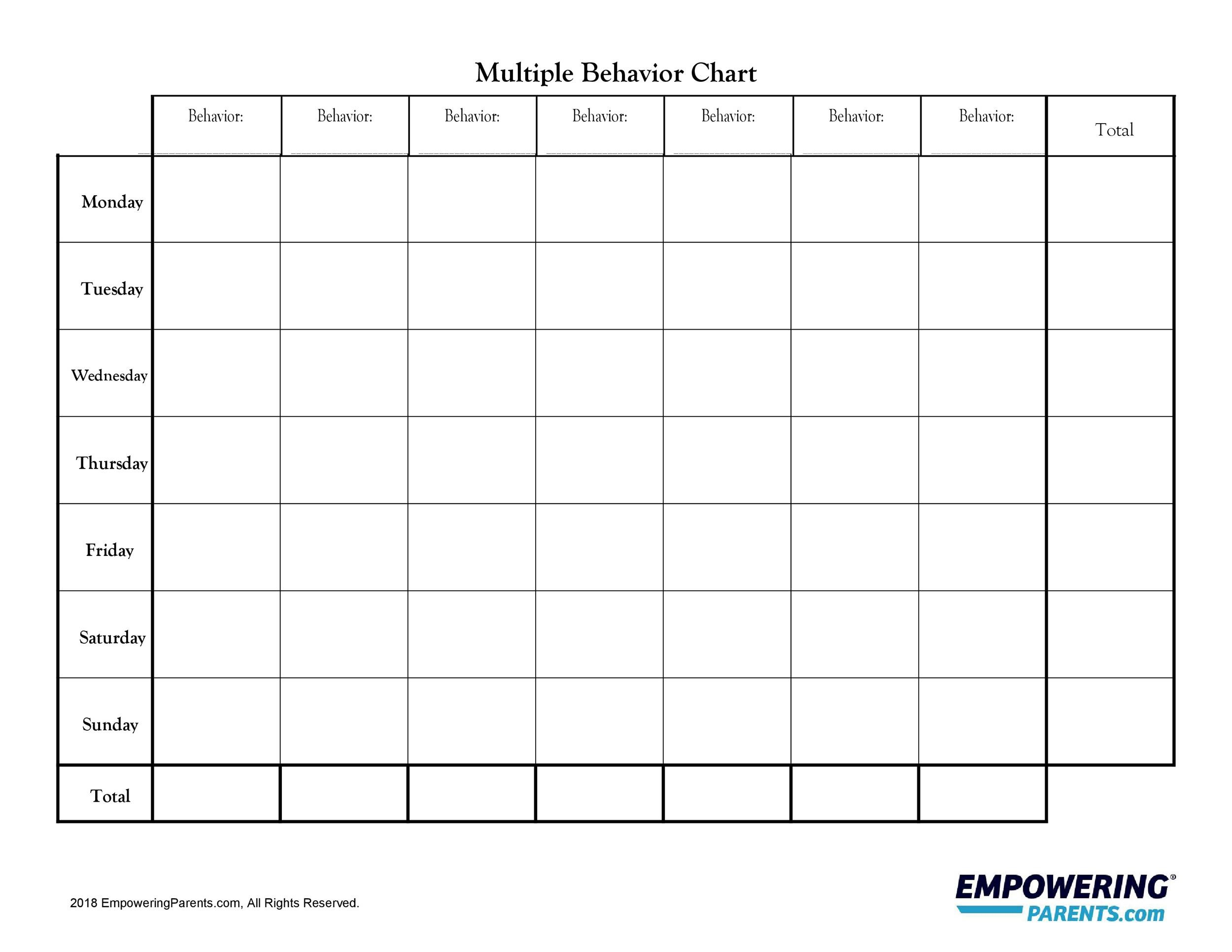 Free behavior chart 39