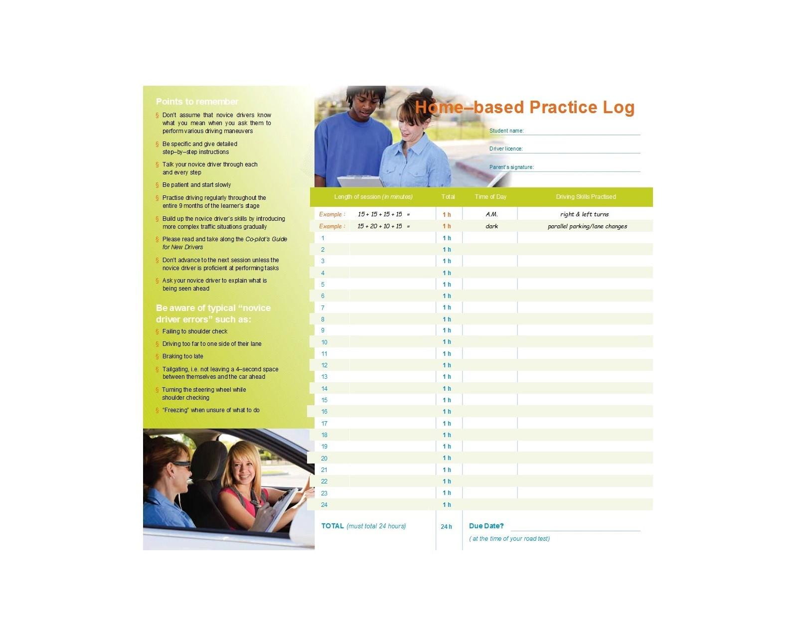 Free drivers daily log 32