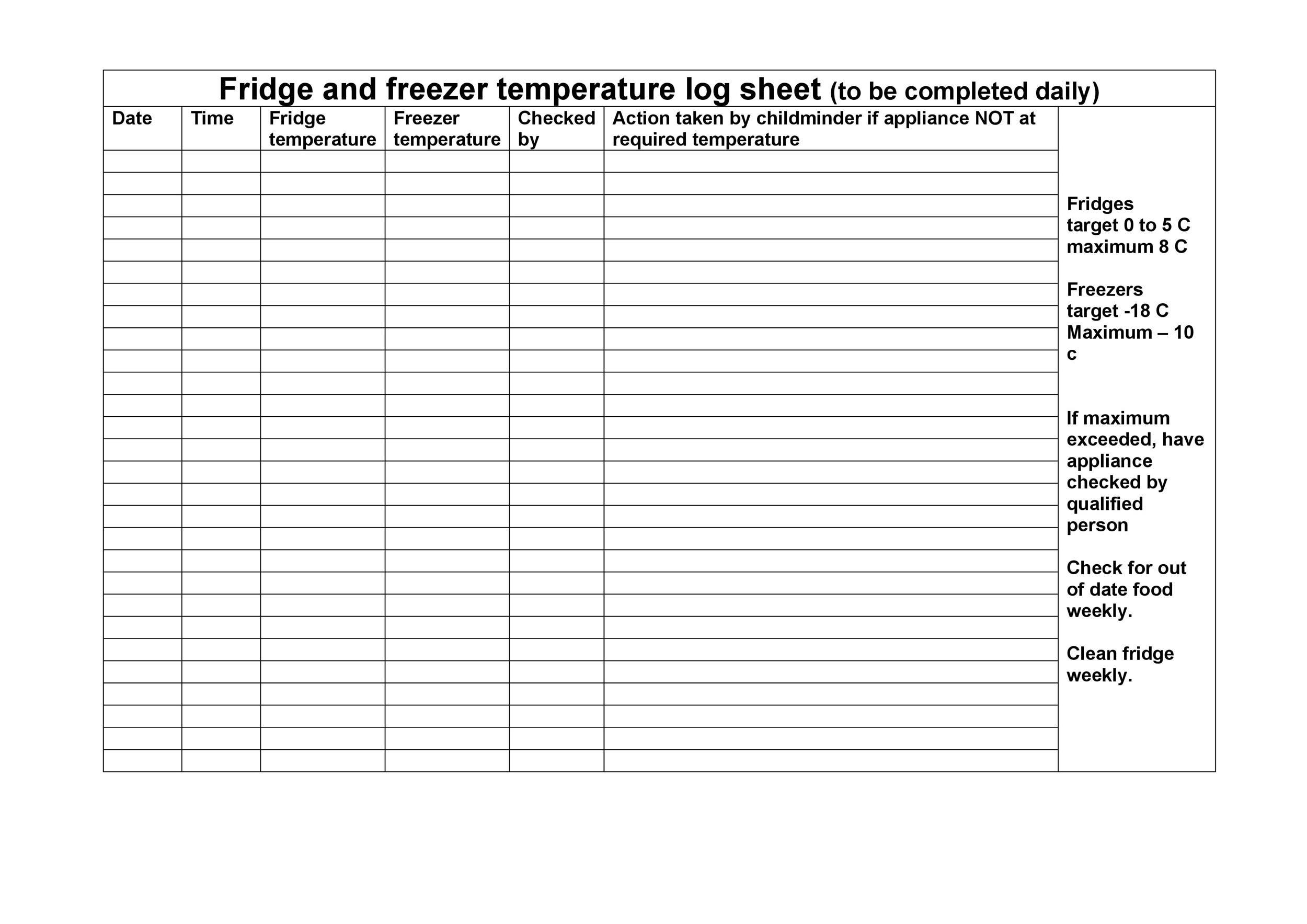 Free log sheet 08