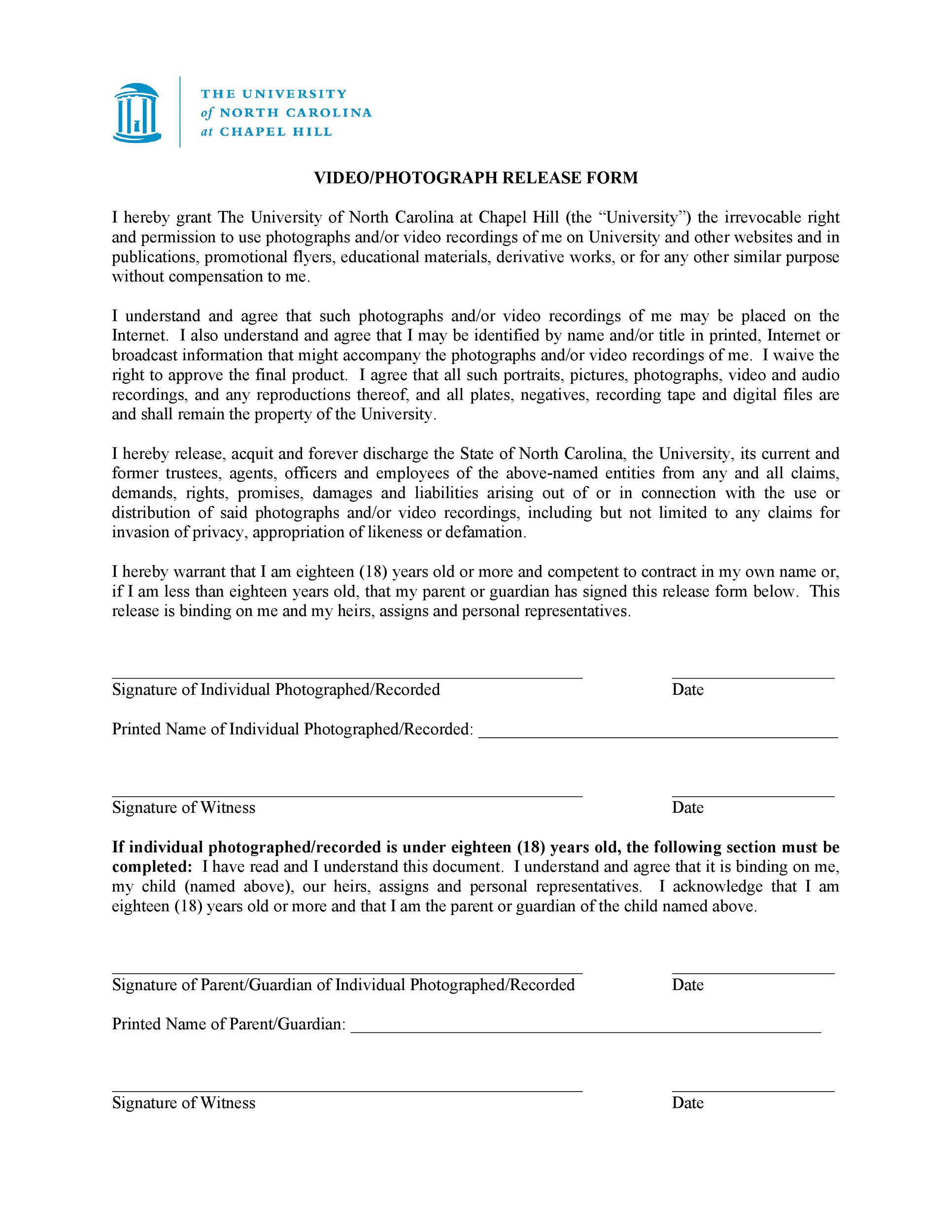 Free model release form 36