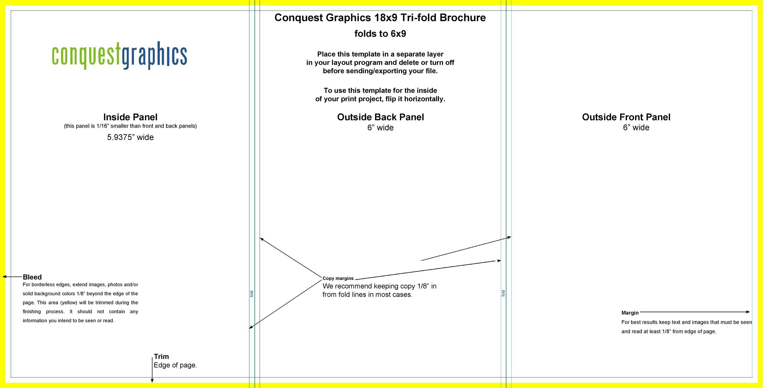Free pamphlet template 09