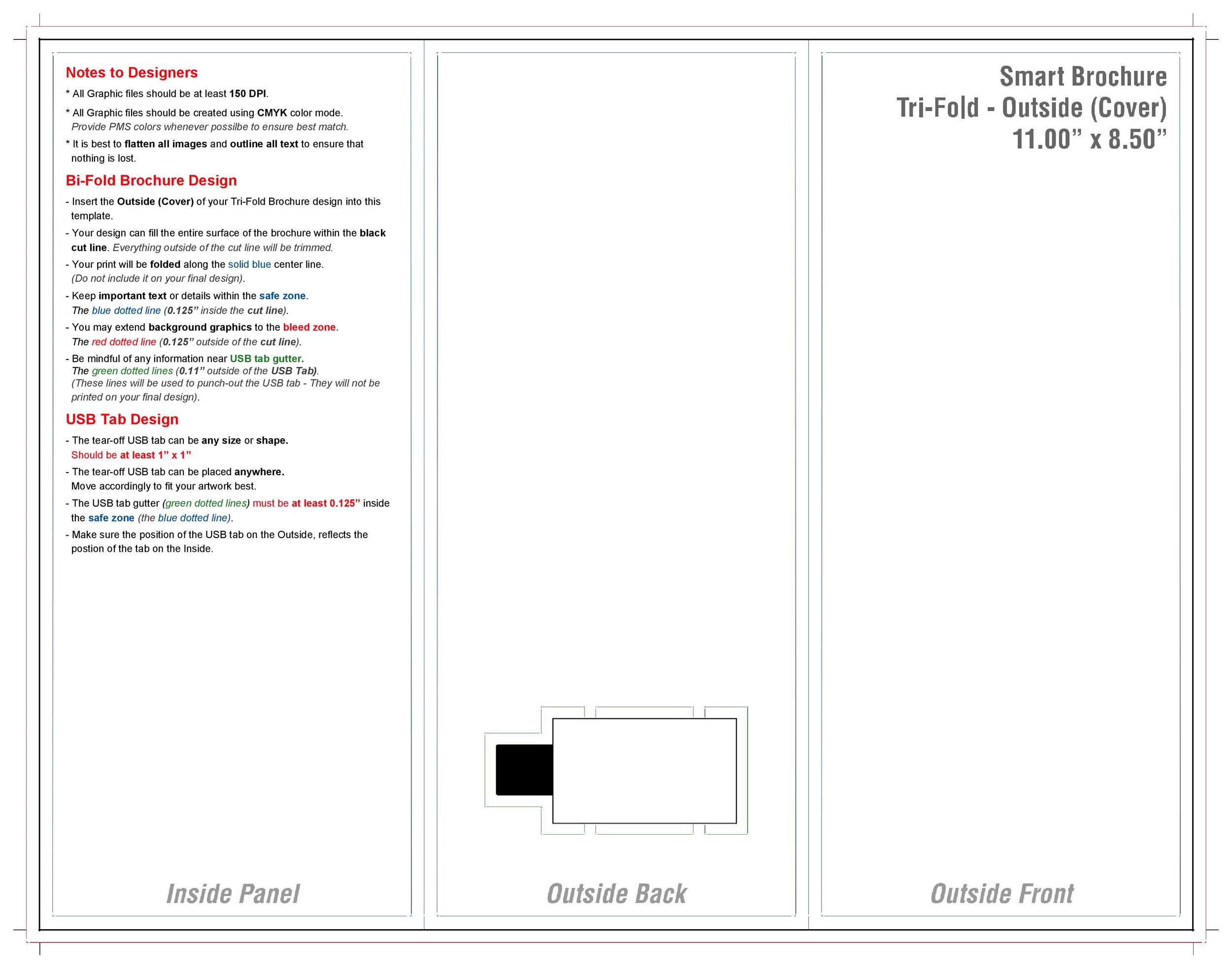 Free pamphlet template 13